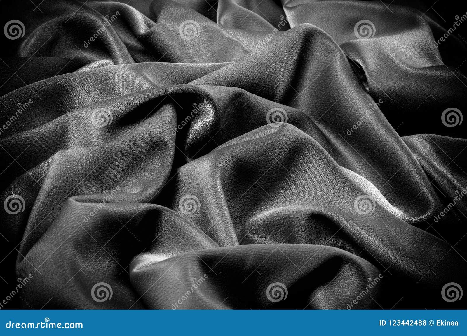 Текстура, предпосылка шаблон Ткань школы чернота, серая
