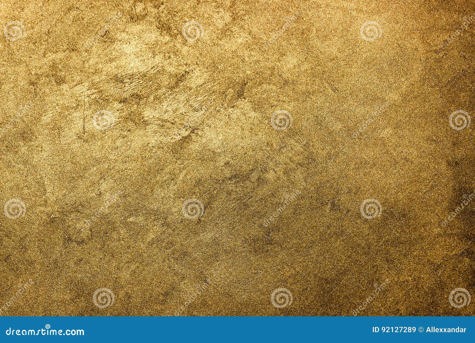 текстура предпосылки золотистая Винтажное золото