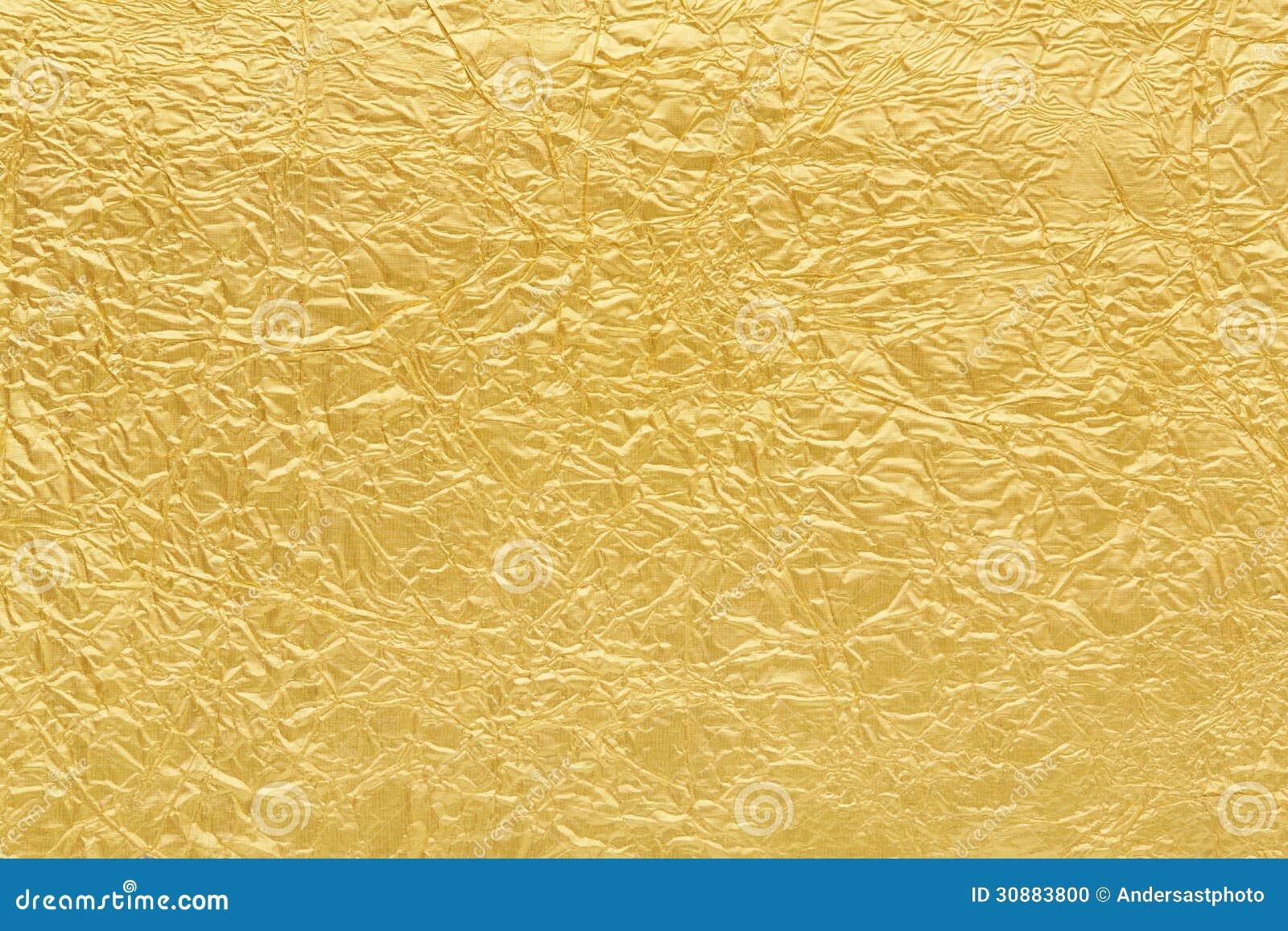Текстура предпосылки сусального золота