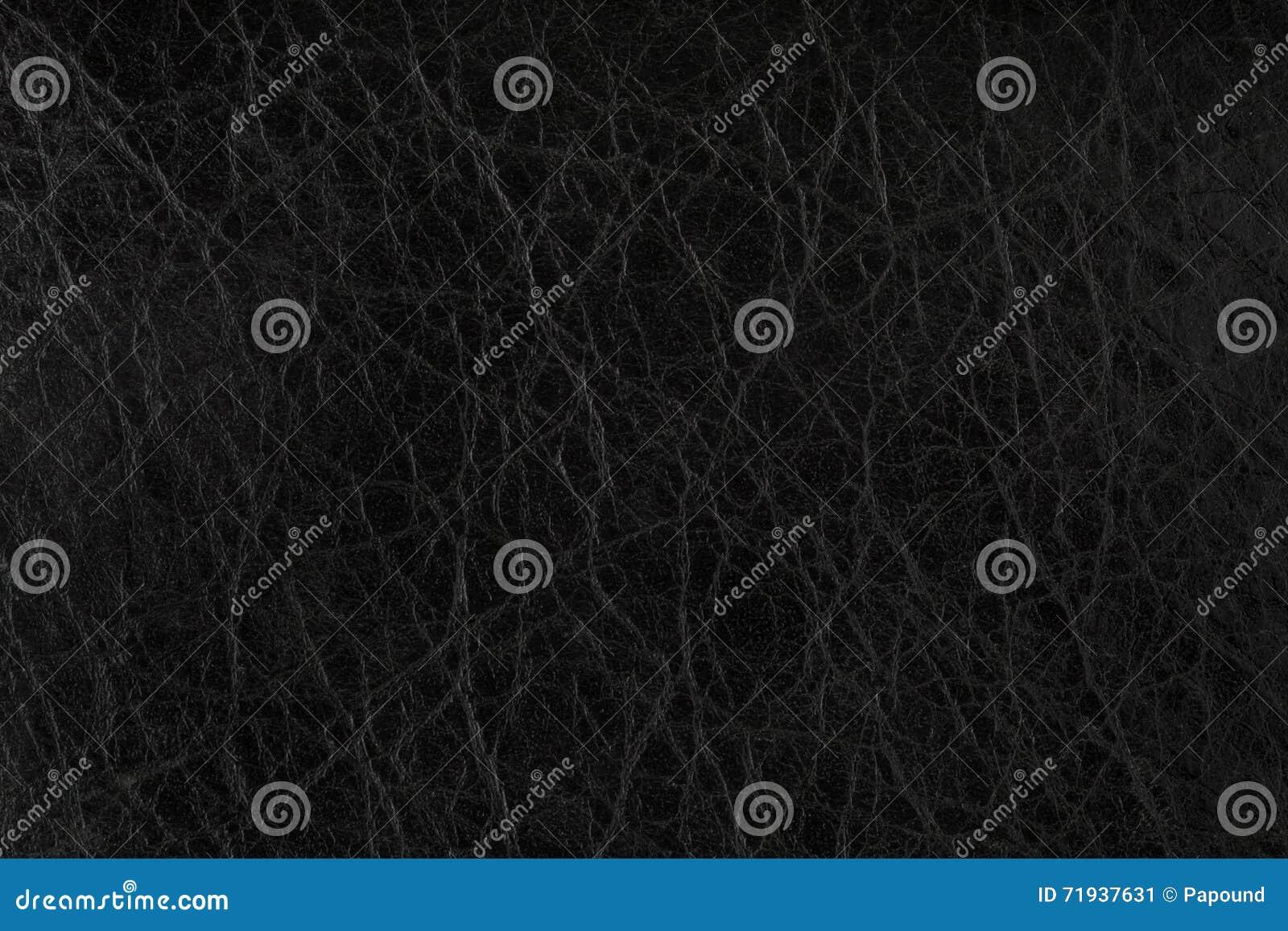 текстура предпосылки черная кожаная