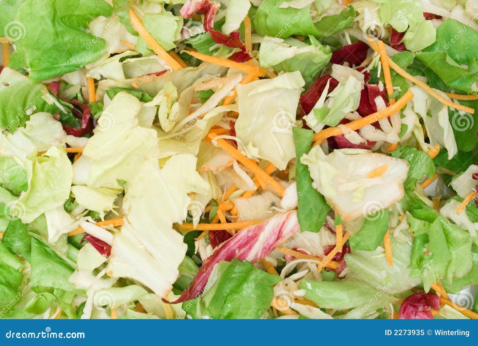 текстура смешанного салата