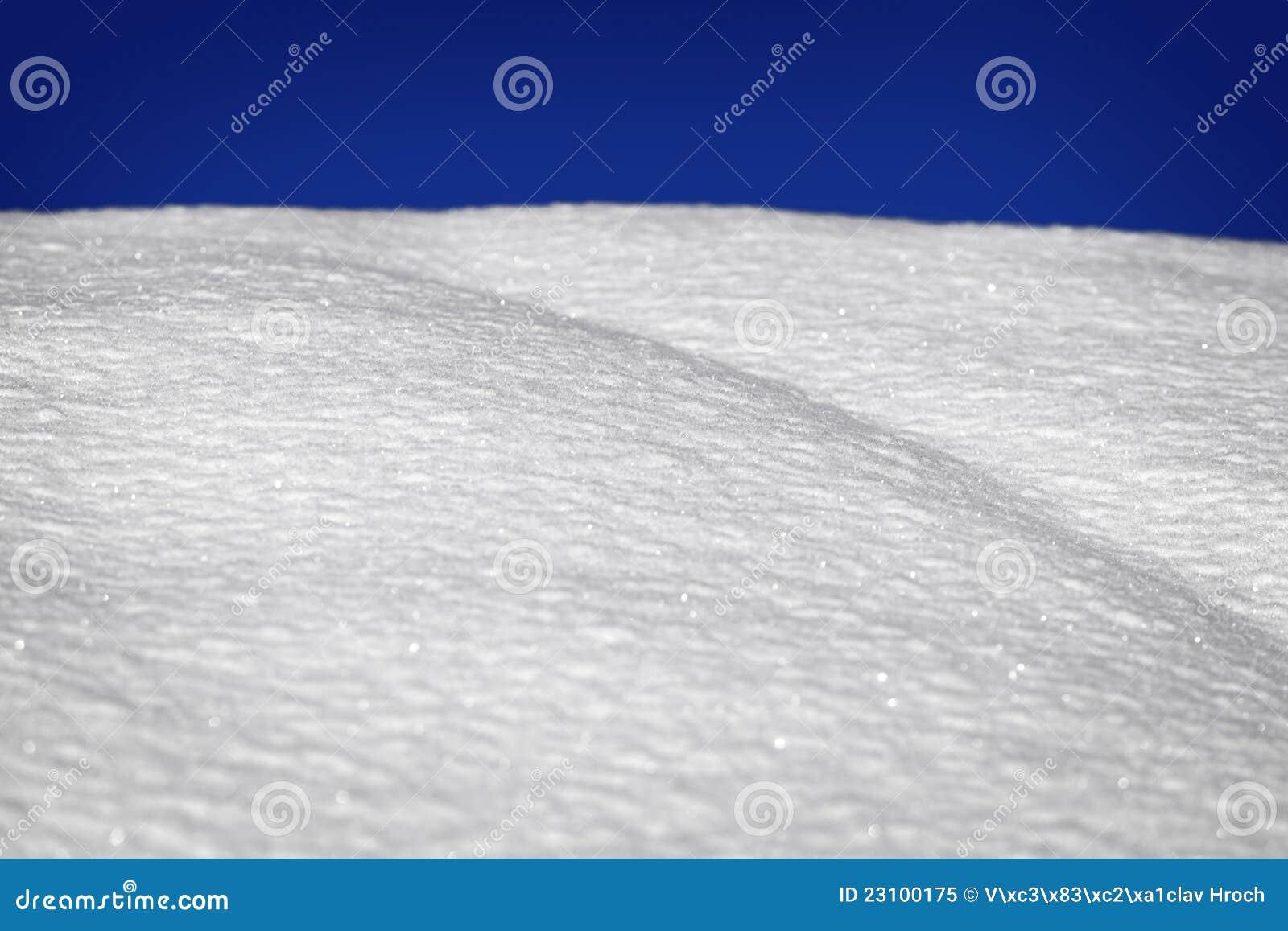 Текстура снежка с горизонтом