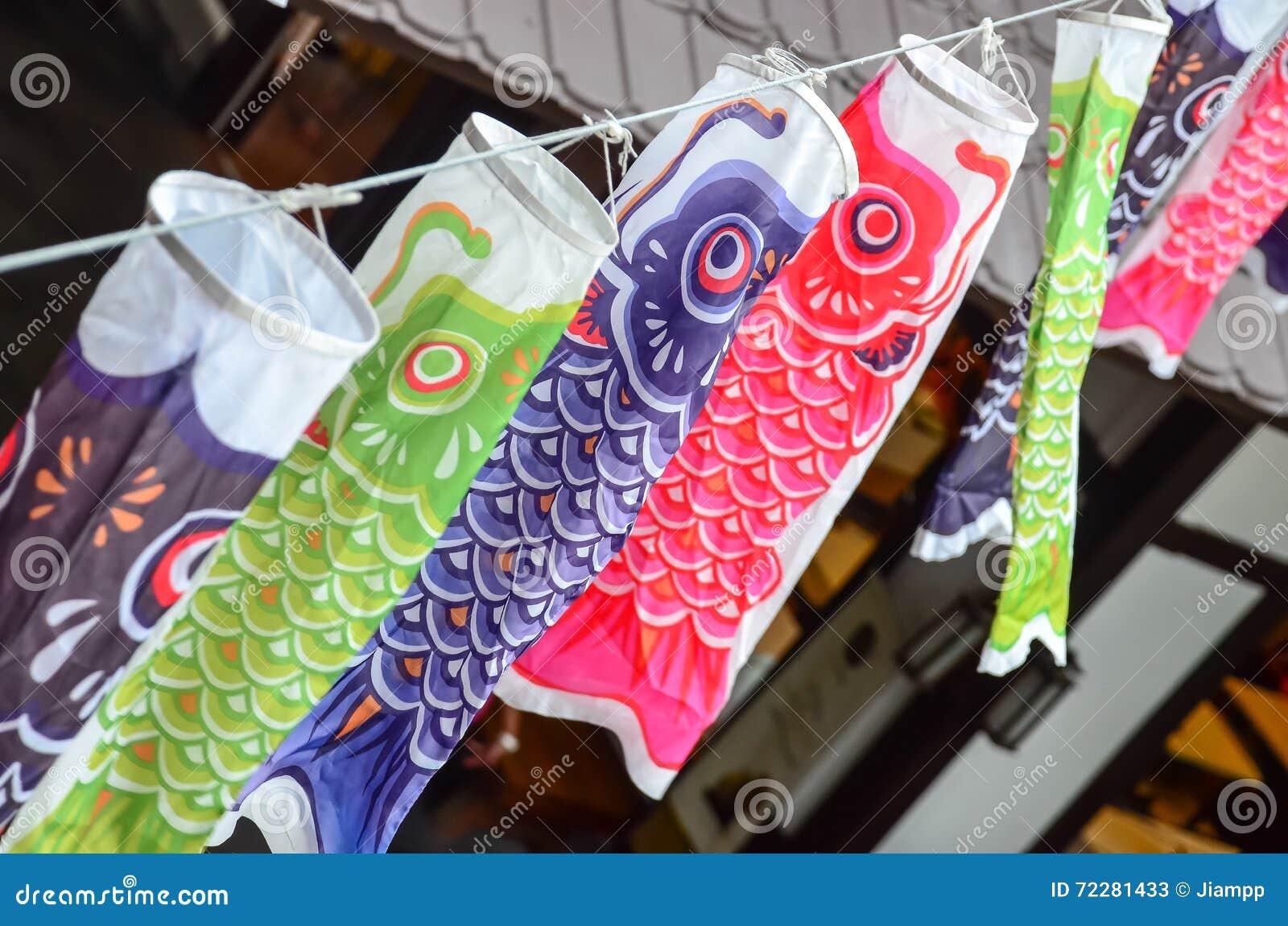 Download Текстура флага карпа Koi стоковое изображение. изображение насчитывающей флаг - 72281433