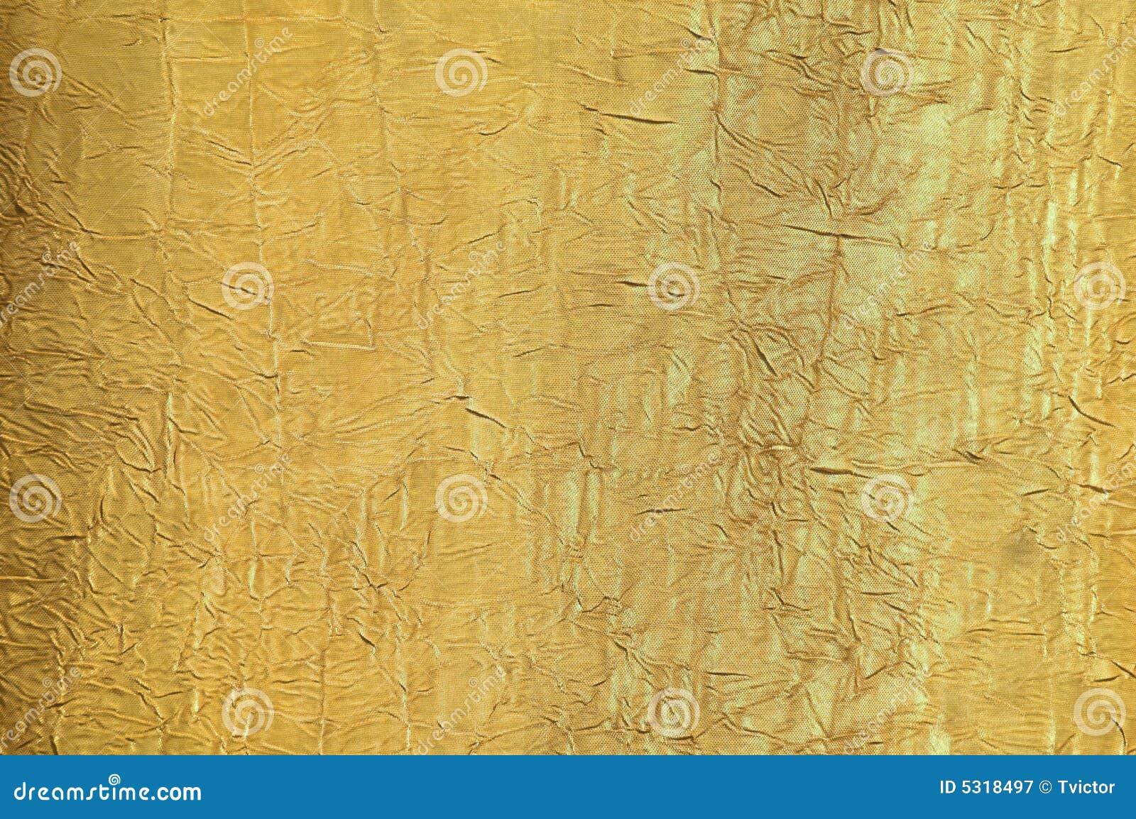 текстура шелка золота