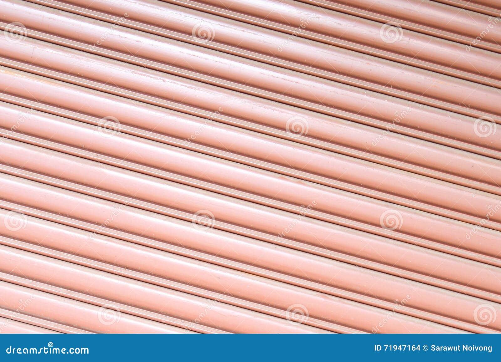 Текстурируйте рифлёный металлический лист, дверь скольжения, стальную дверь
