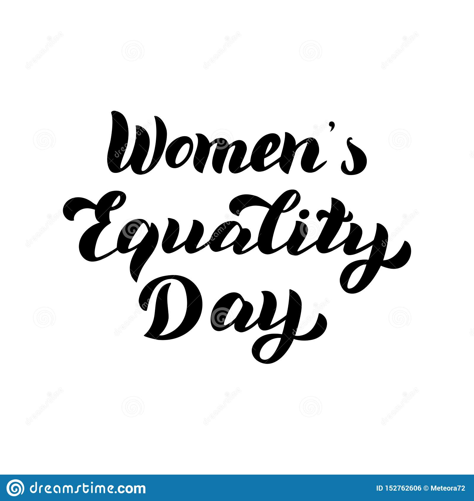 Текст дня равности женщин Карта оформления торжества Феминист праздник