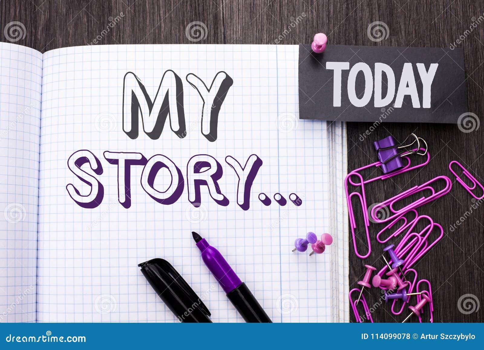 Текст почерка мой рассказ Портфолио профиля личной истории достижения жизнеописания смысла концепции написанное на книге тетради