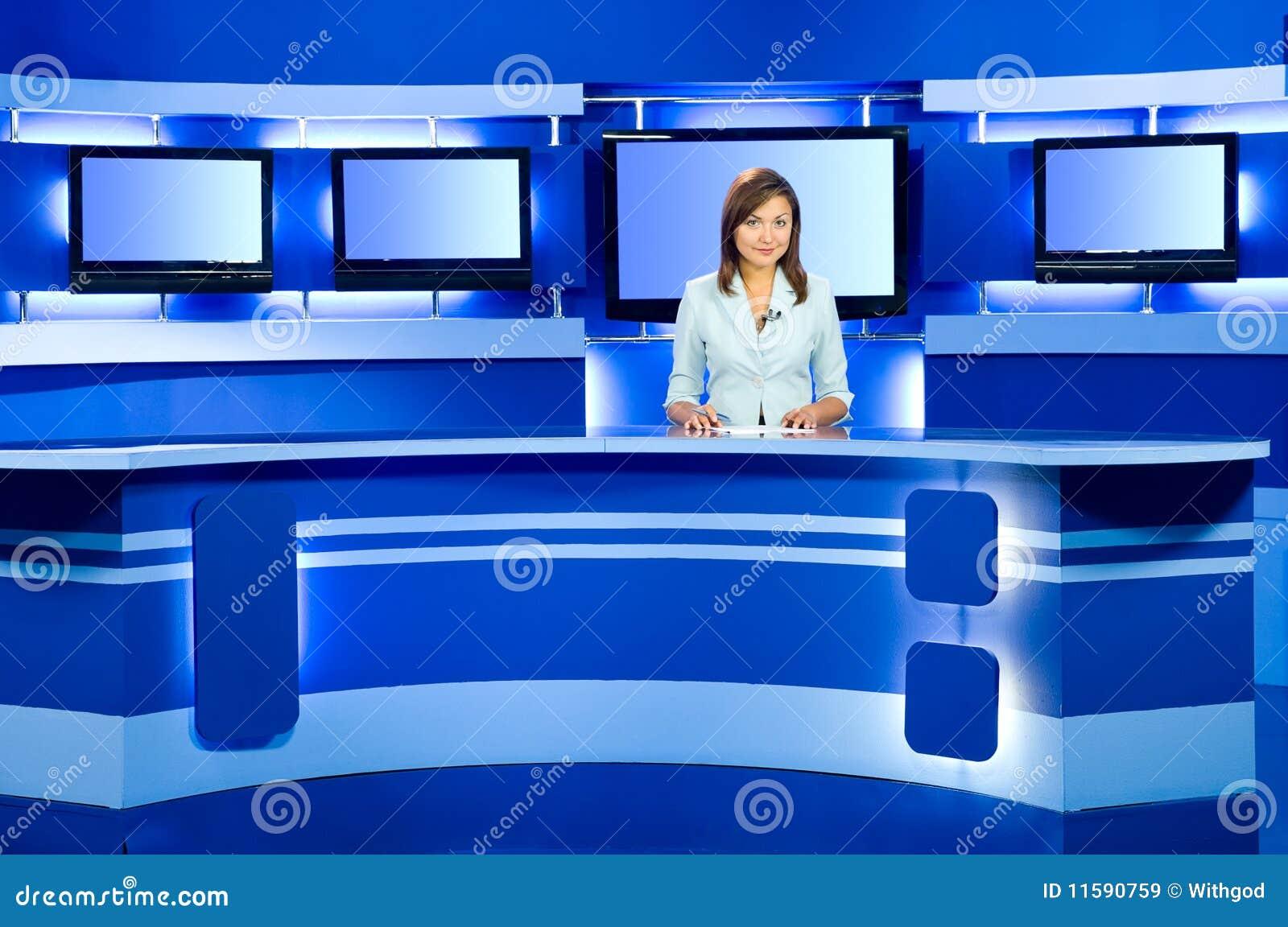 телевидение tv студии ведуща