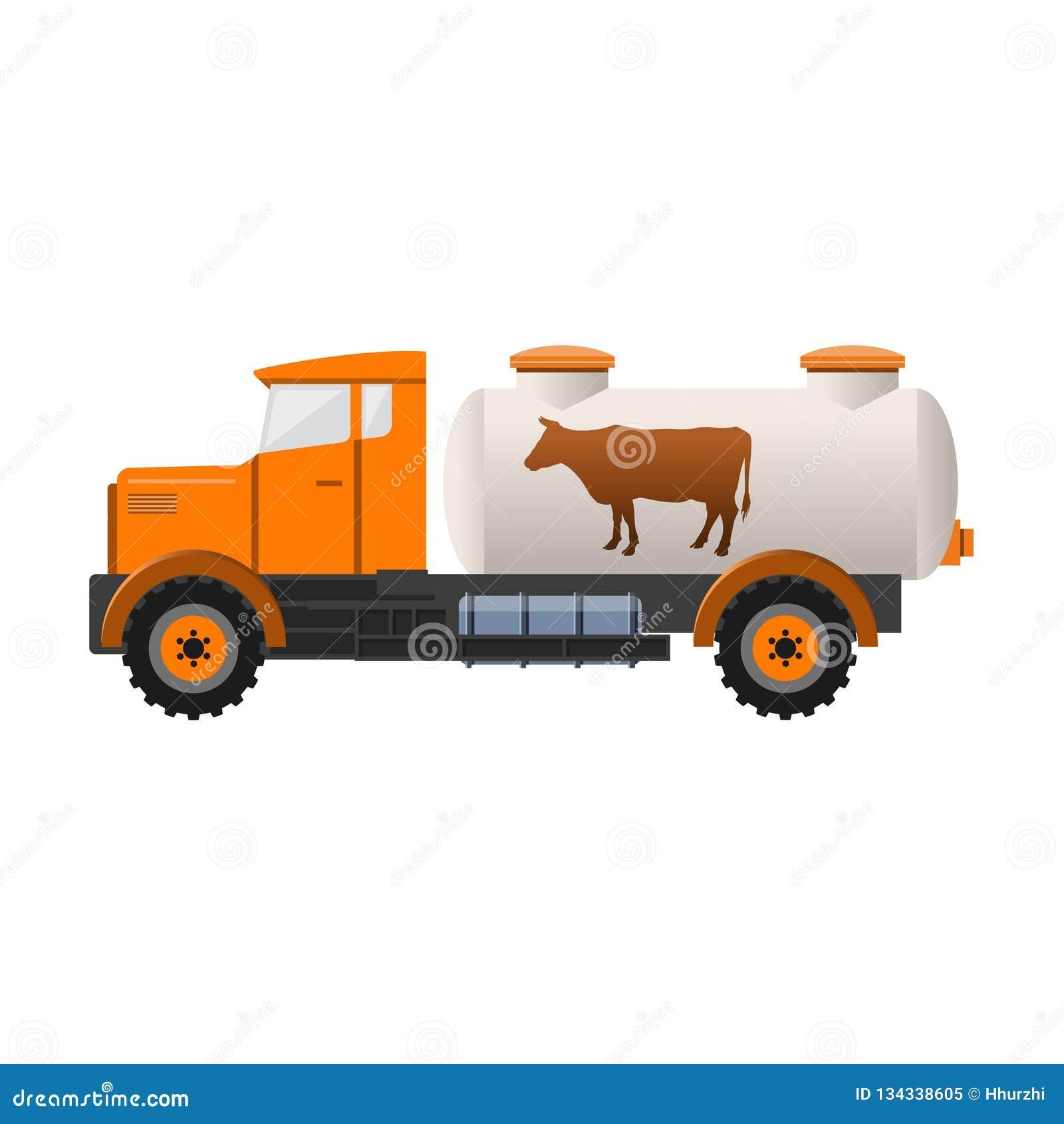 Тележка танка молока