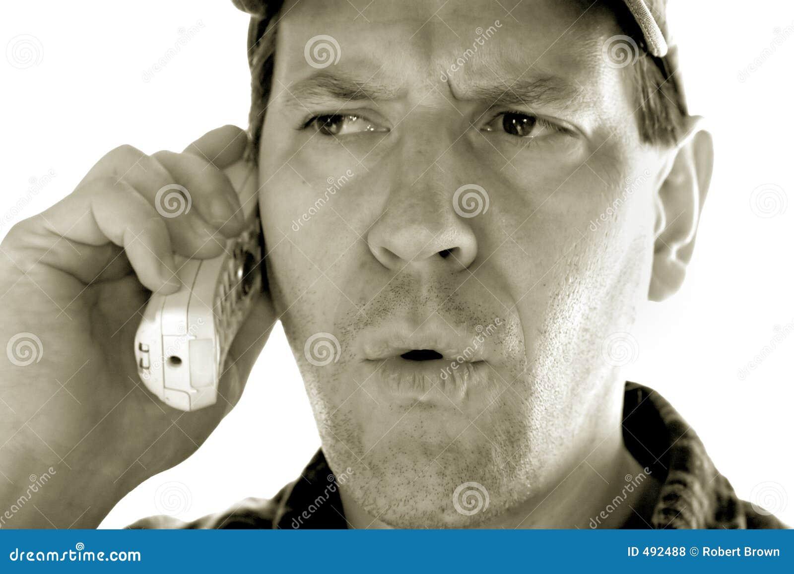 телефон человека