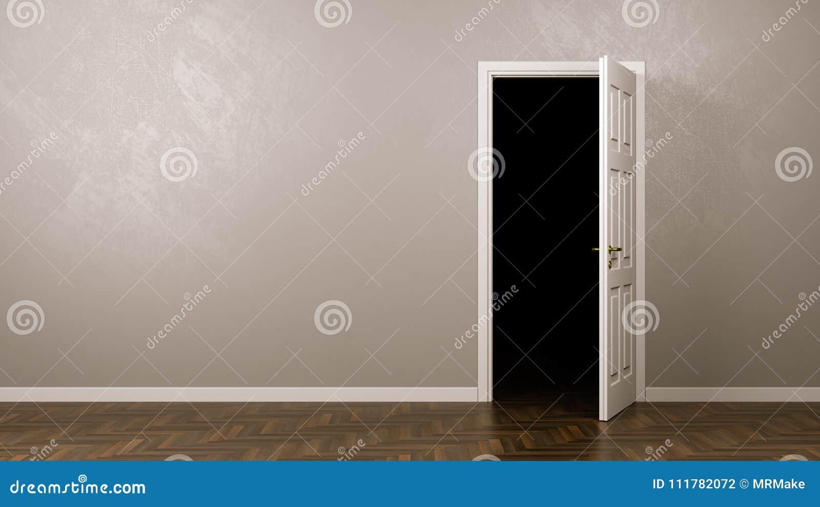 Темнота за дверью