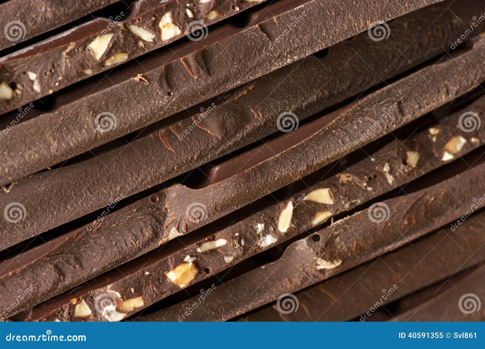 темнота шоколада близкая вверх