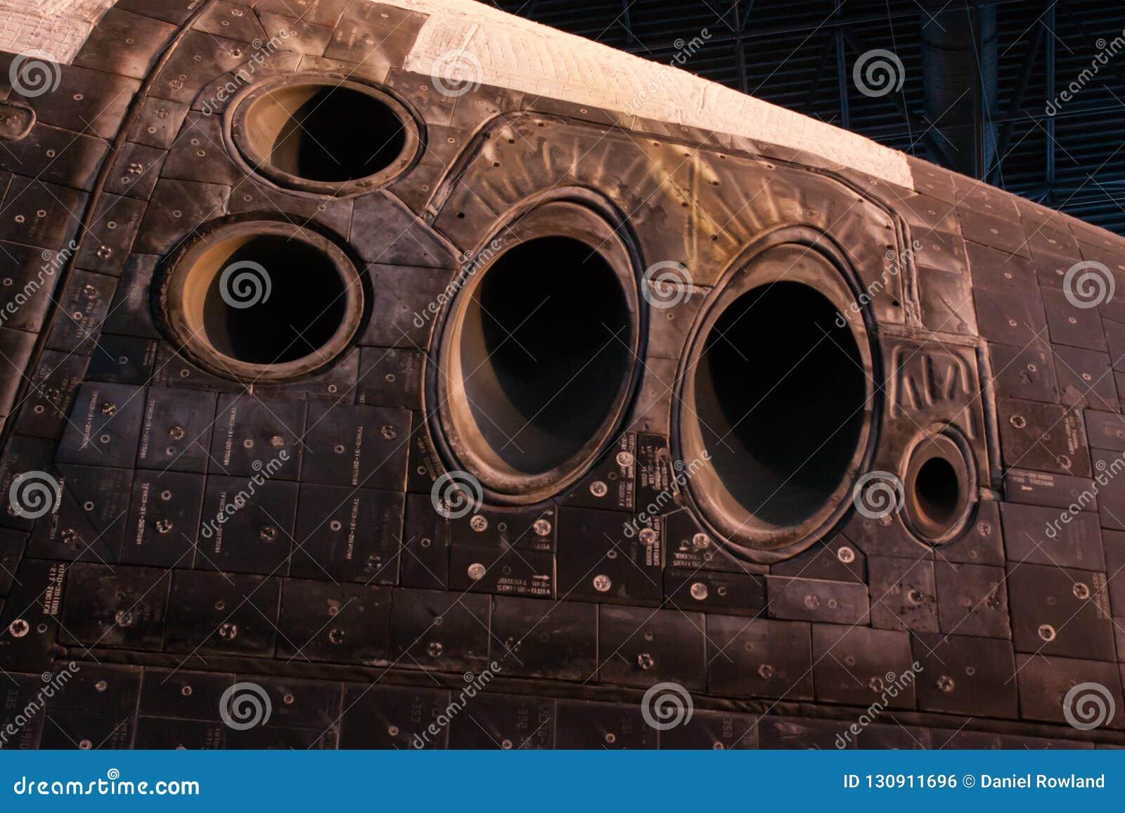 Тепловая защита космического летательного аппарата многоразового использования