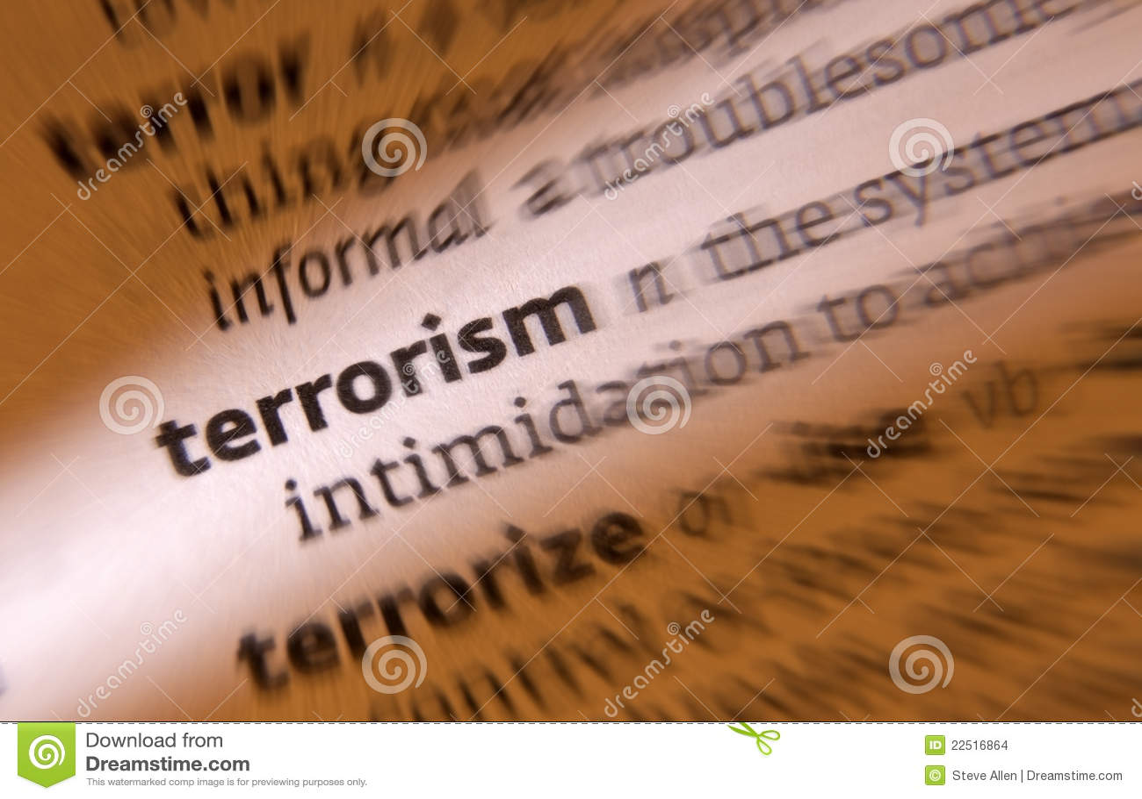 Террорисм - террорист