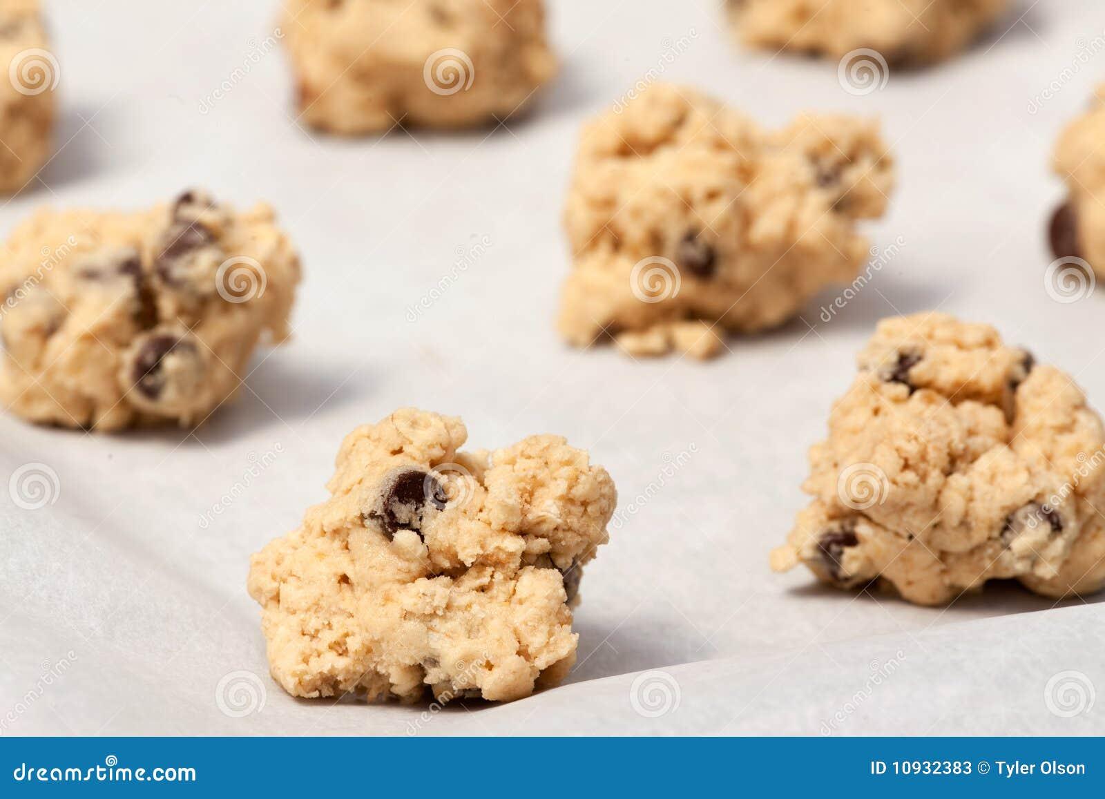 тесто печенья