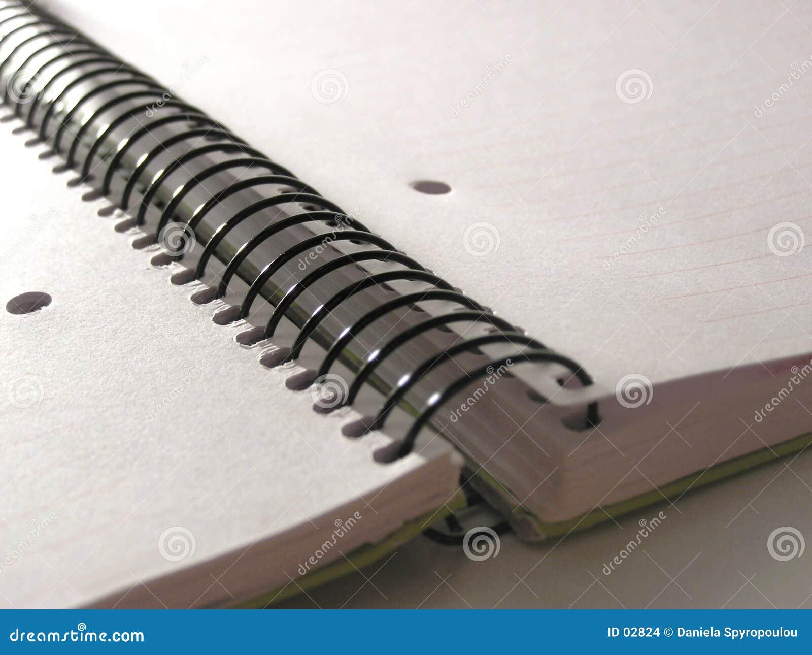 Download тетрадь стоковое фото. изображение насчитывающей ручно, письмо - 2824