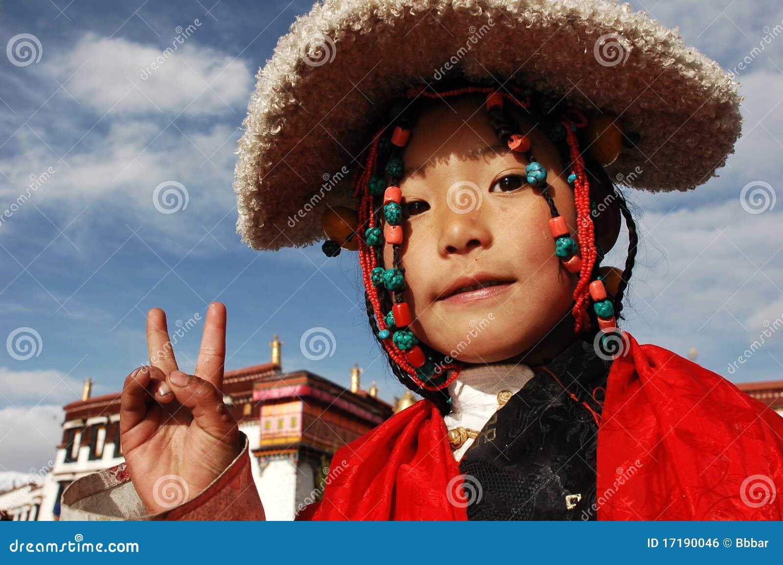 тибетец девушки