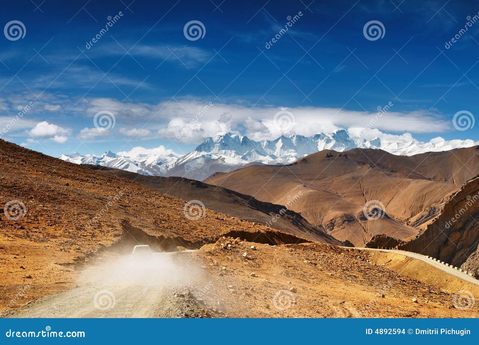 тибетец дороги