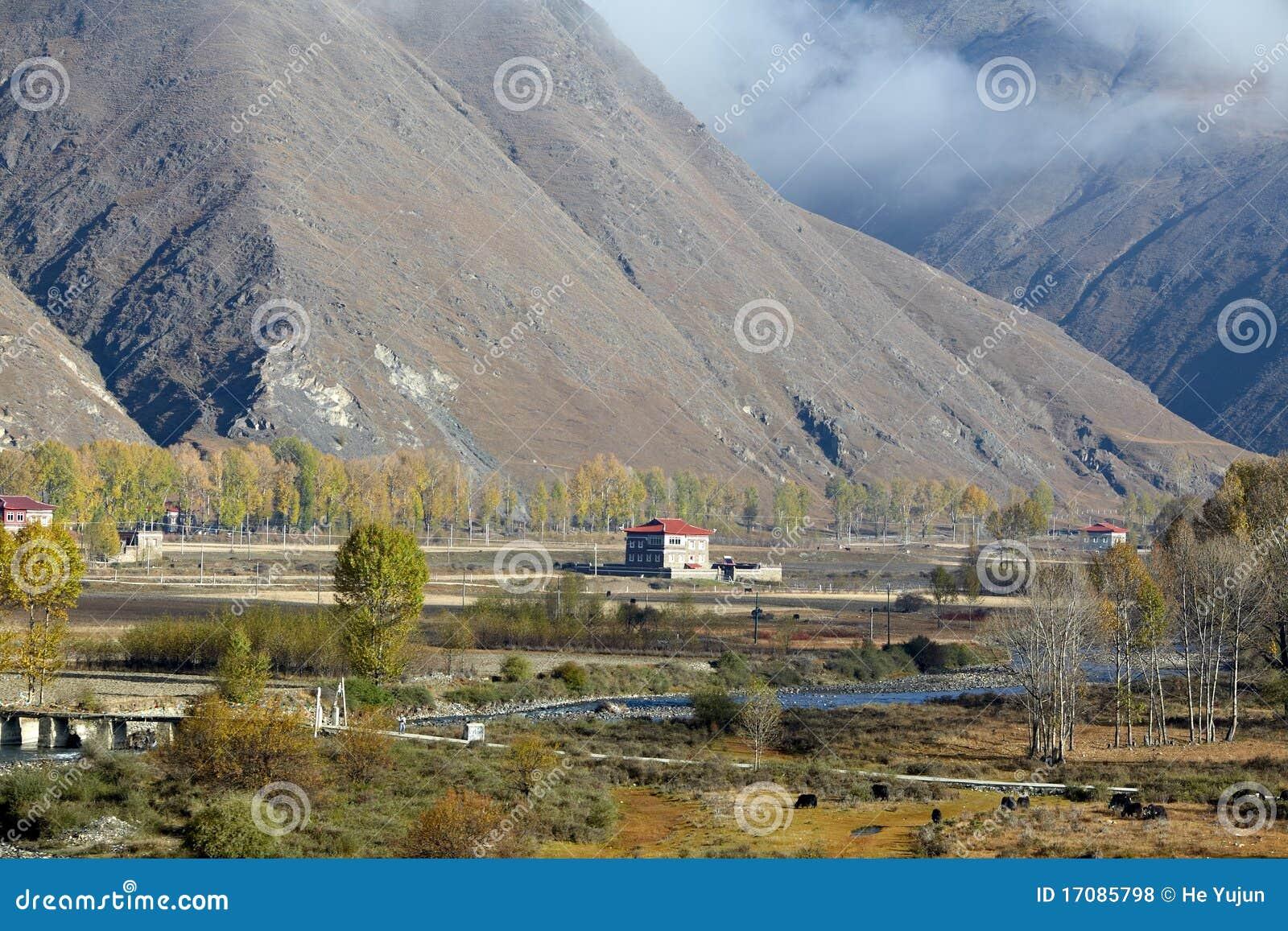 тибетское село