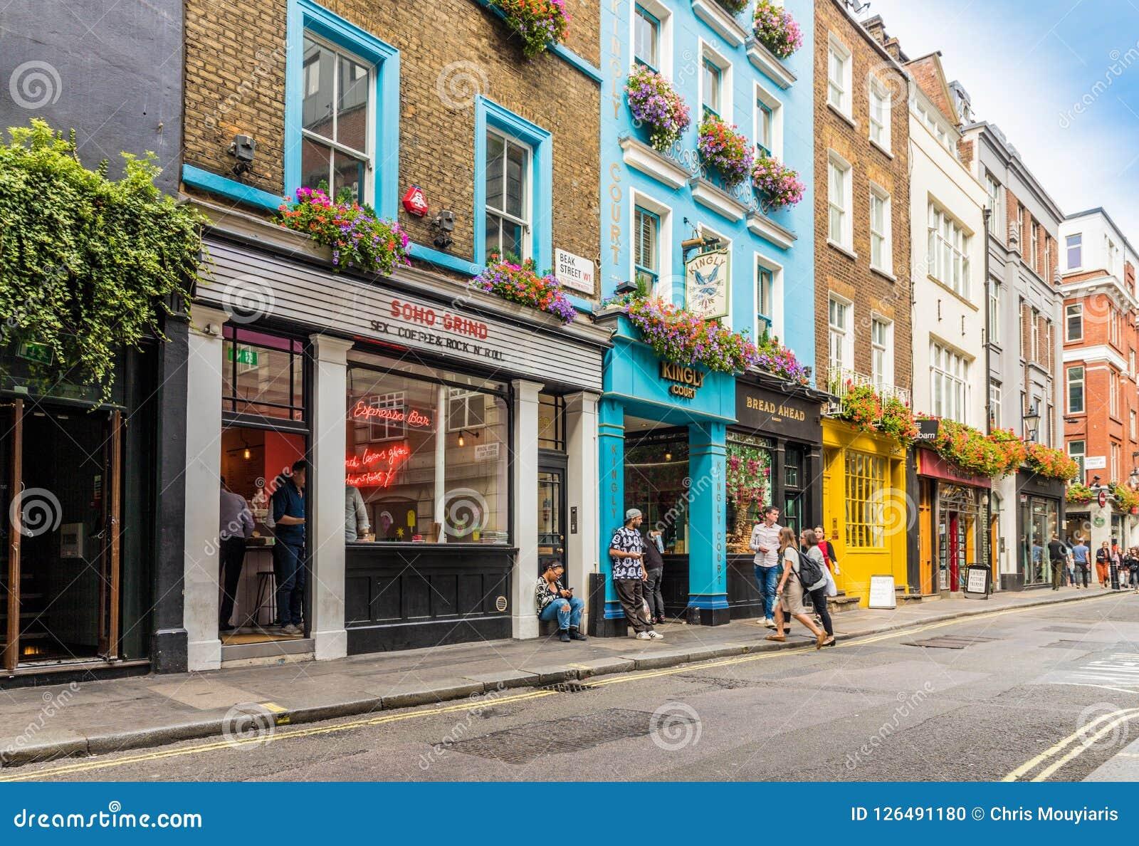 Типичный взгляд в Лондоне