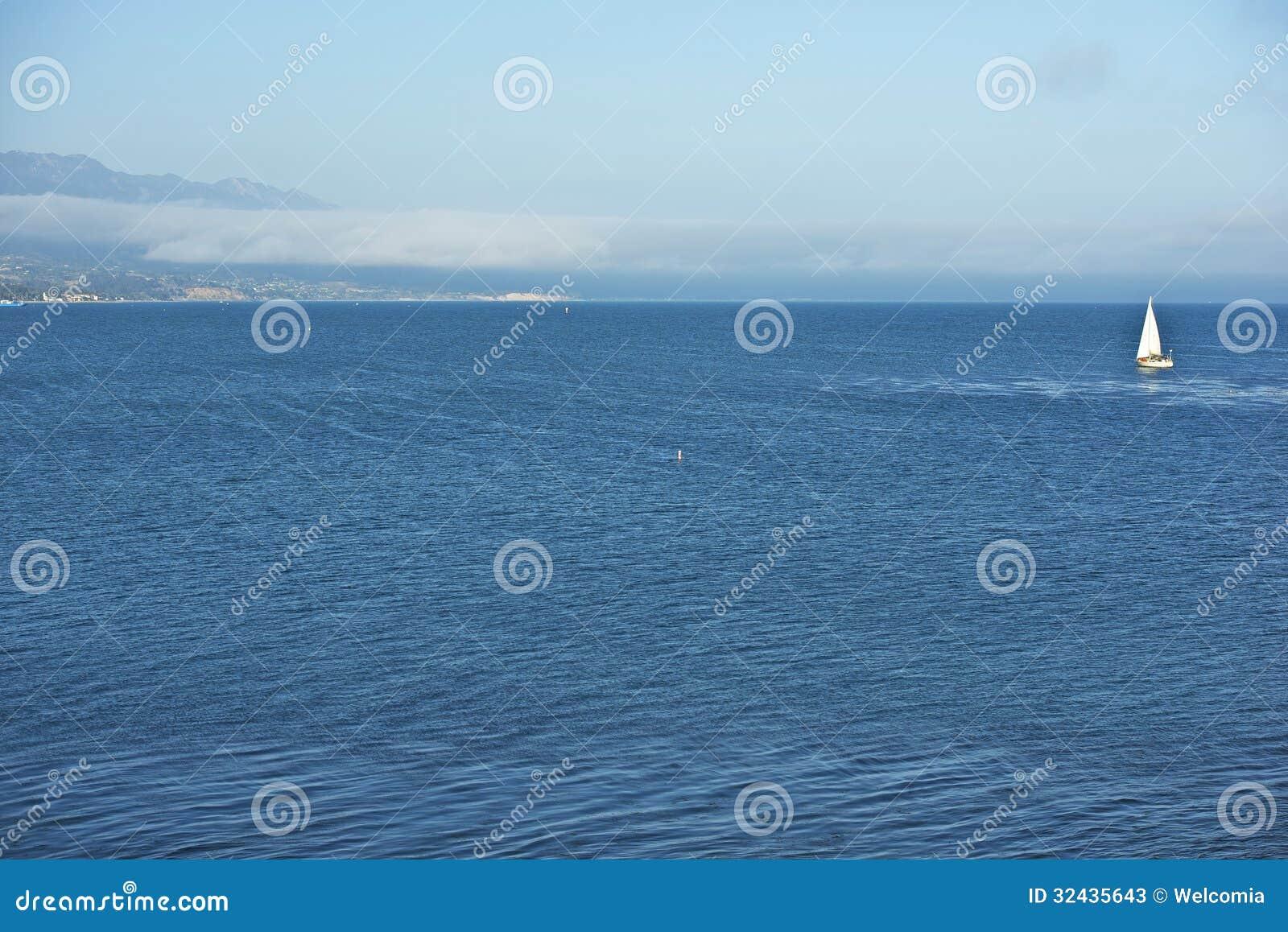 Тихий океан Санта-Барбара