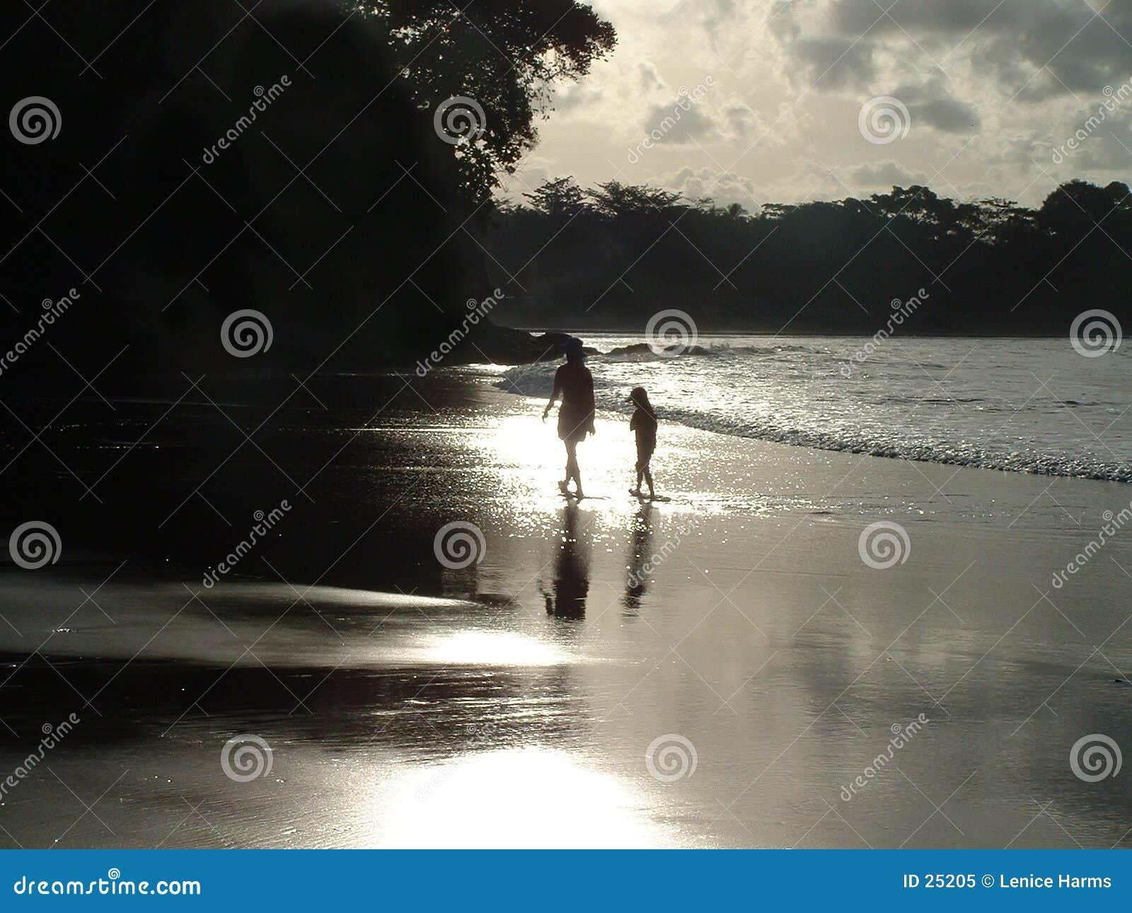 тишь пляжа