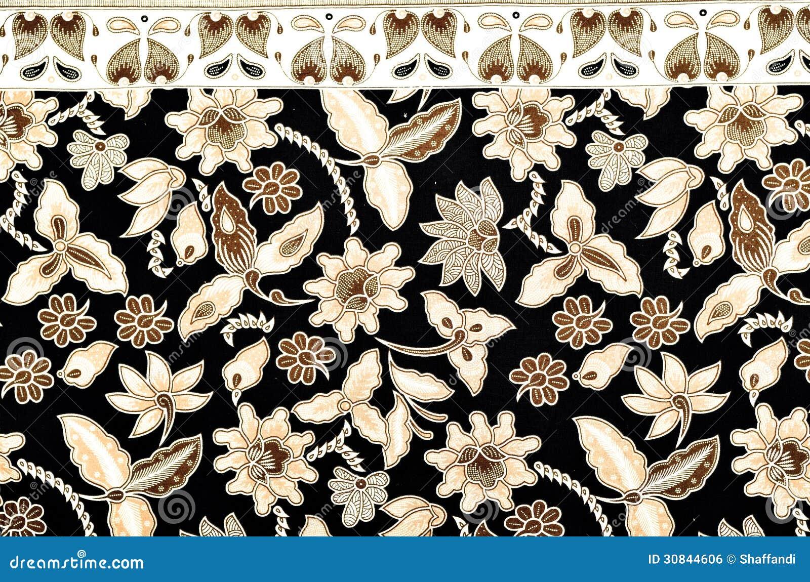 Ткань картины и батика