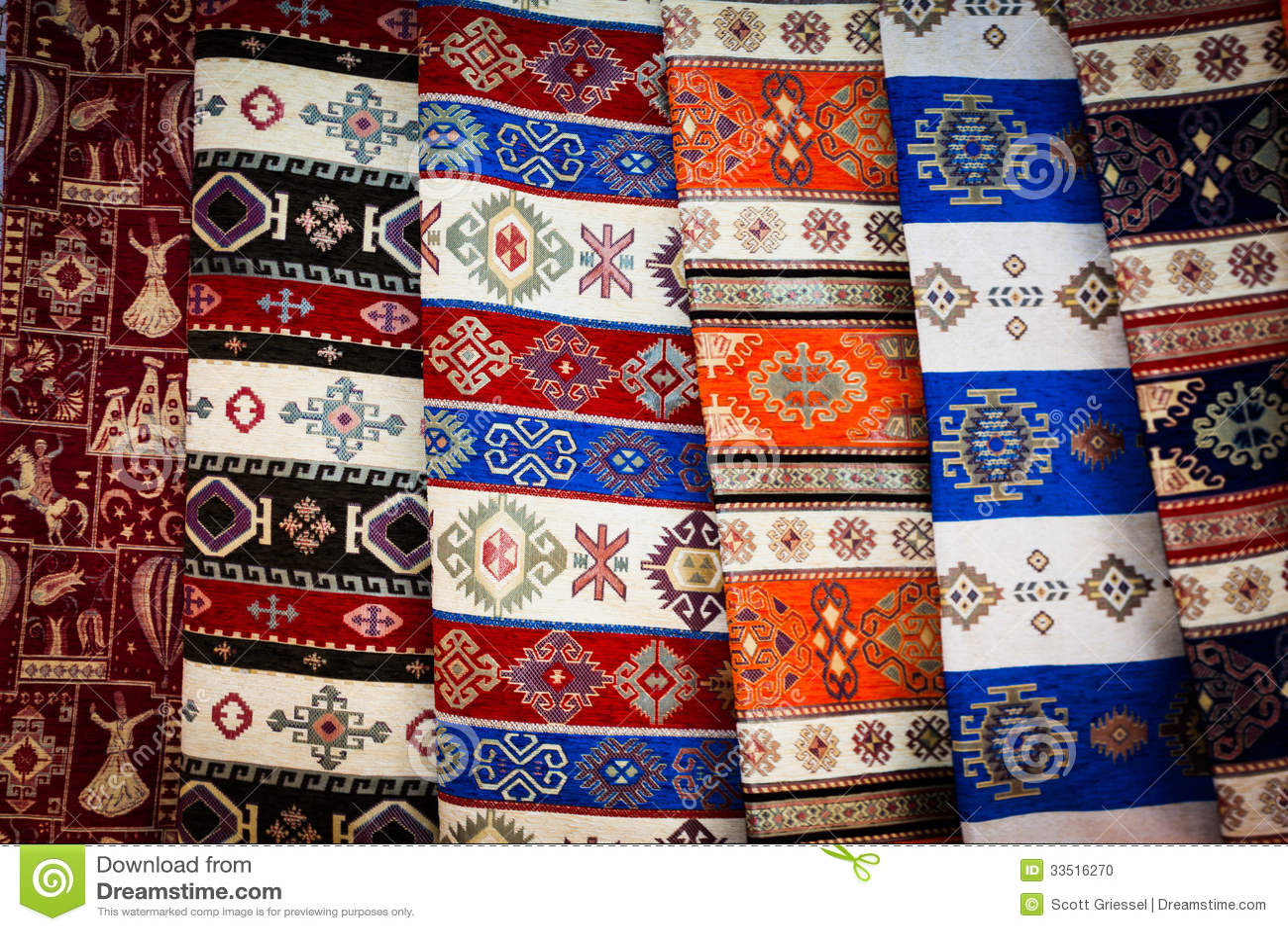 Ткань половика от Турции