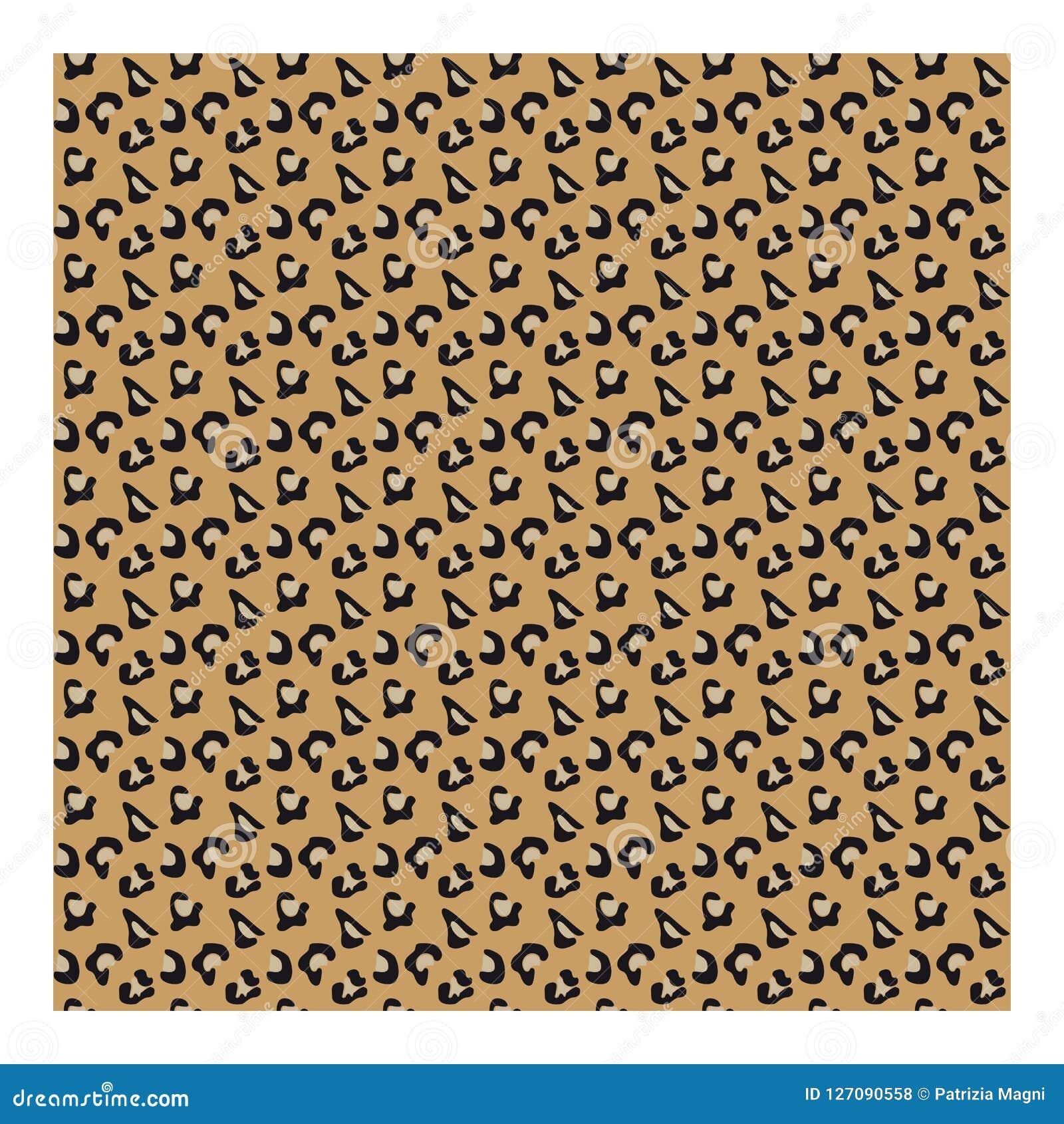 Ткань Animalier - леопард