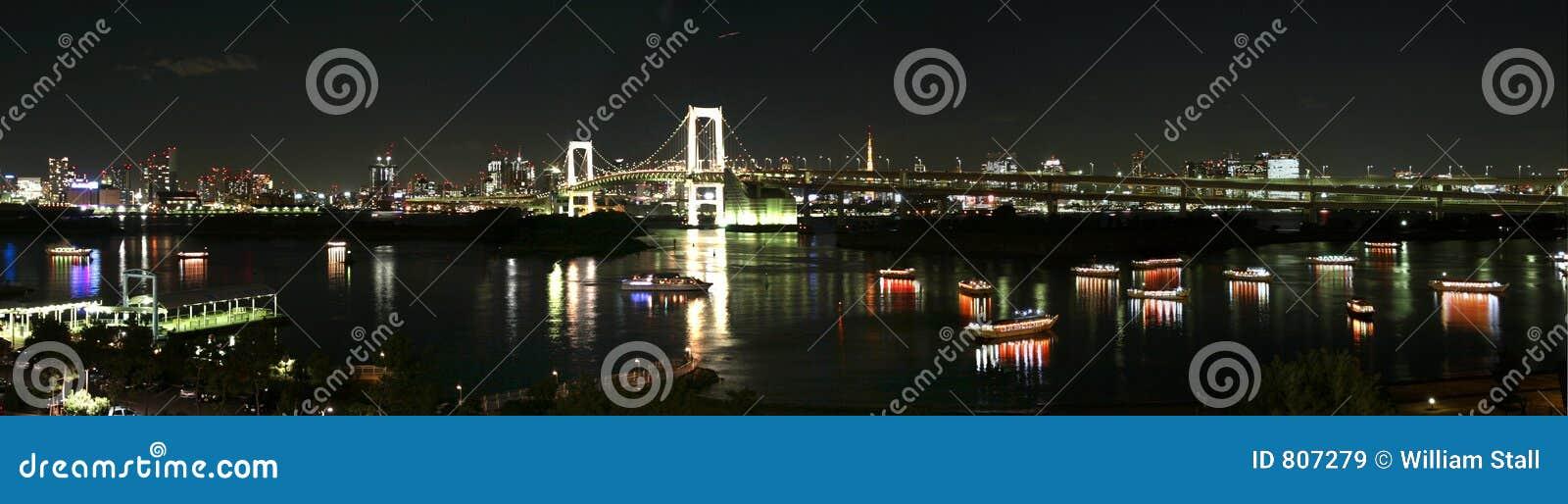 токио ночи города