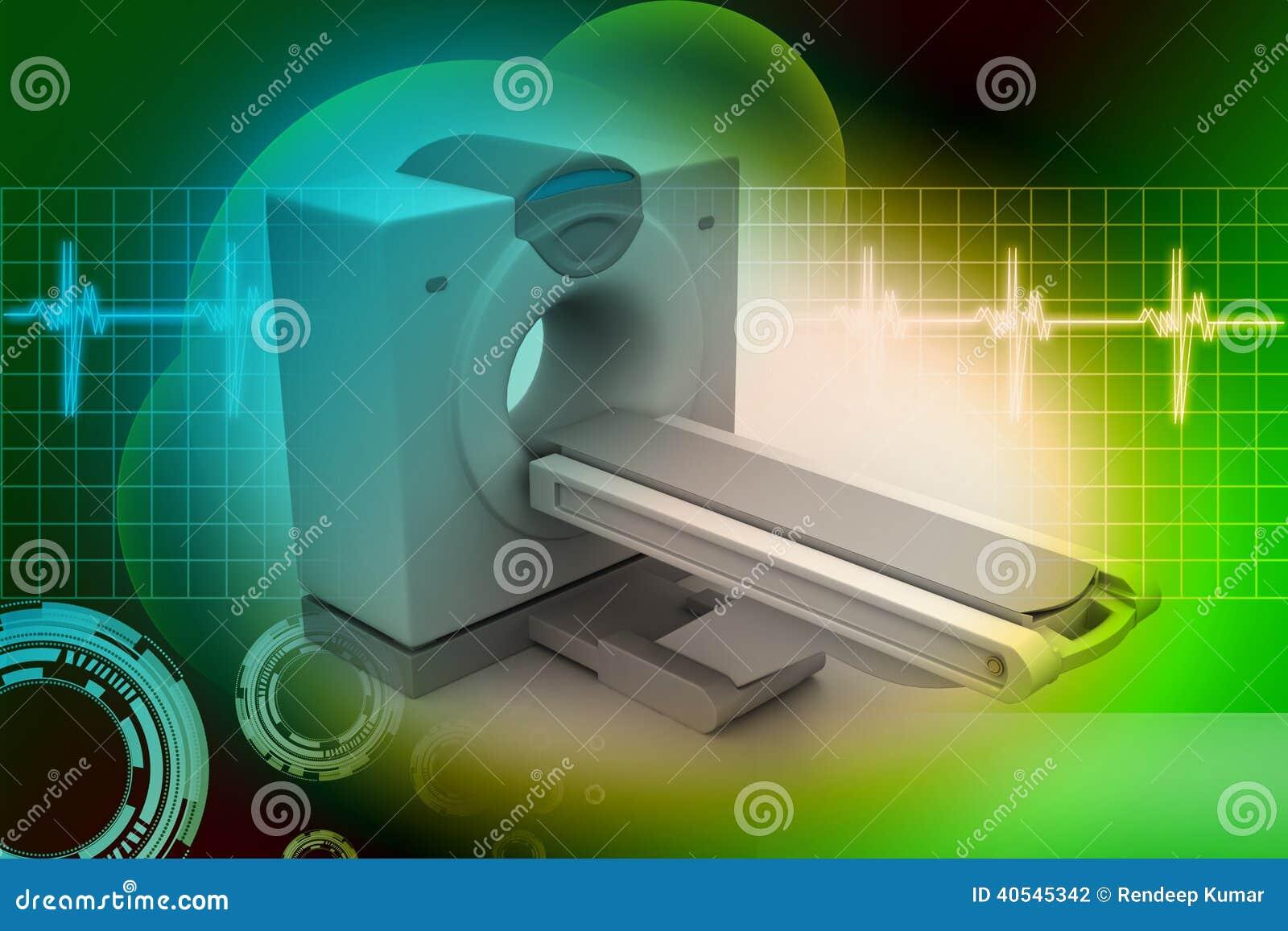 Томография блока развертки CT