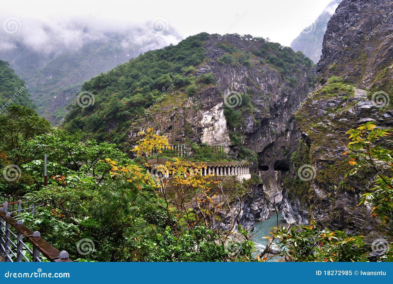 тоннель taroko gorge сценарный