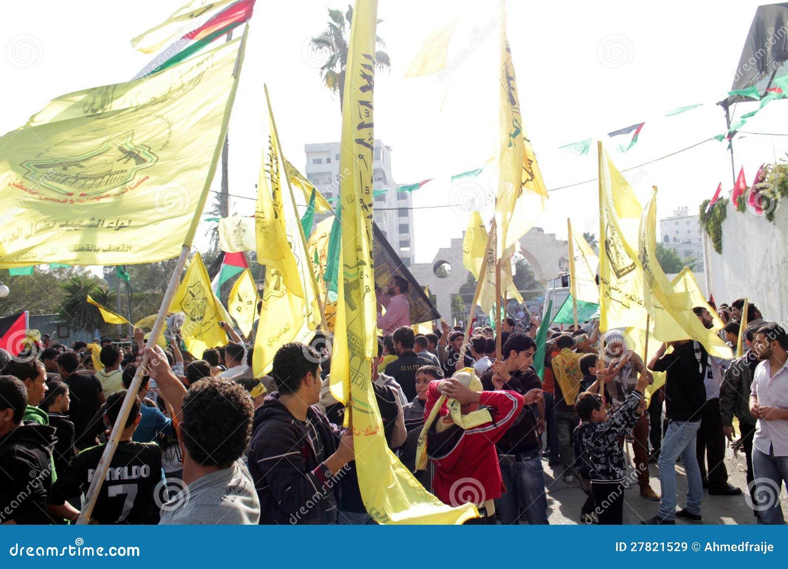 Торжества победы в Газа