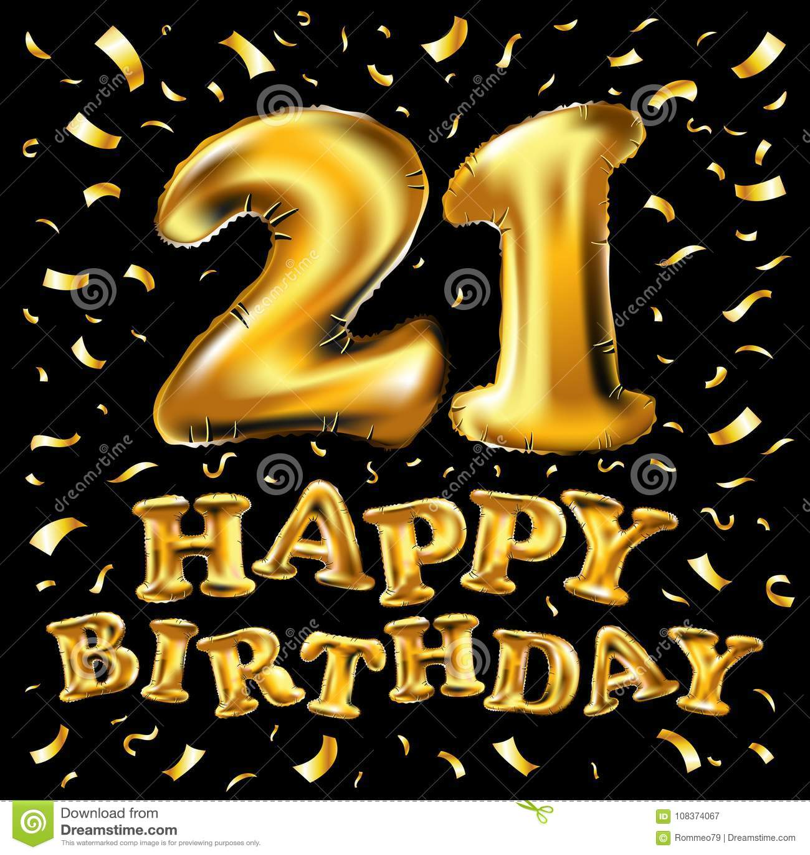 Поздравления с днем рождения 21 летнему парню