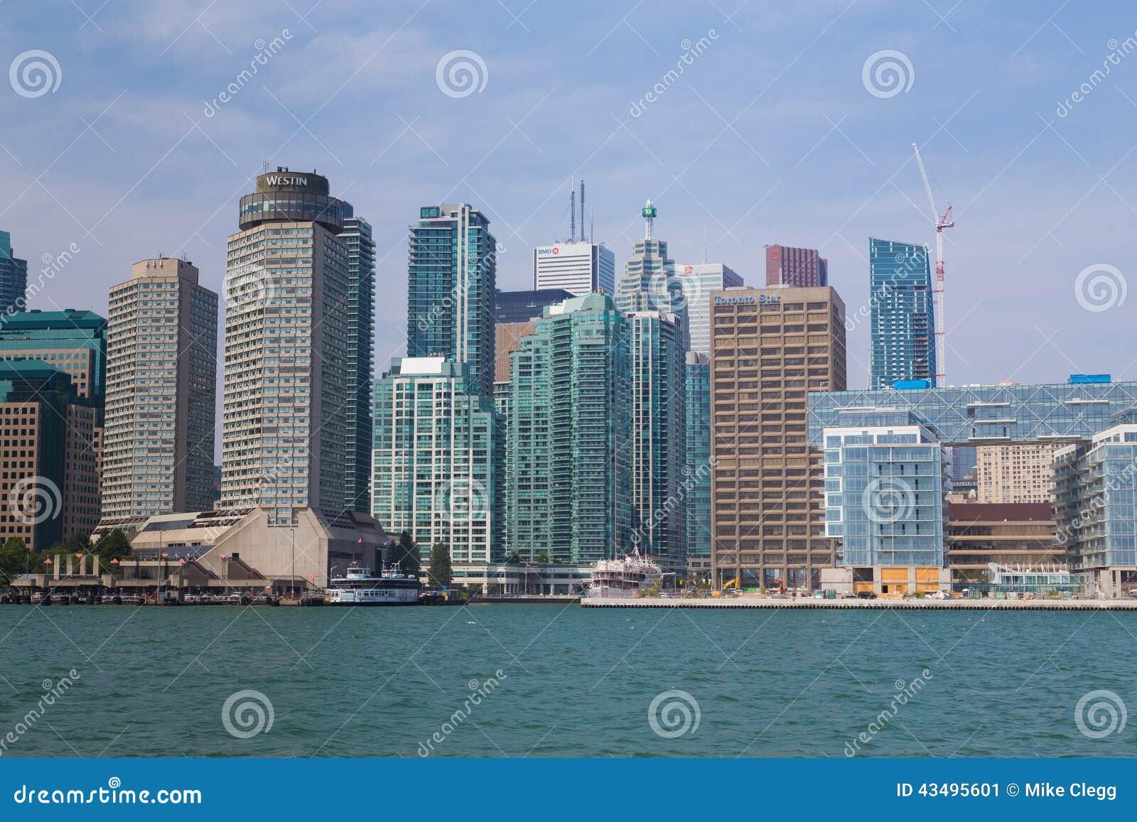 Торонто от востока