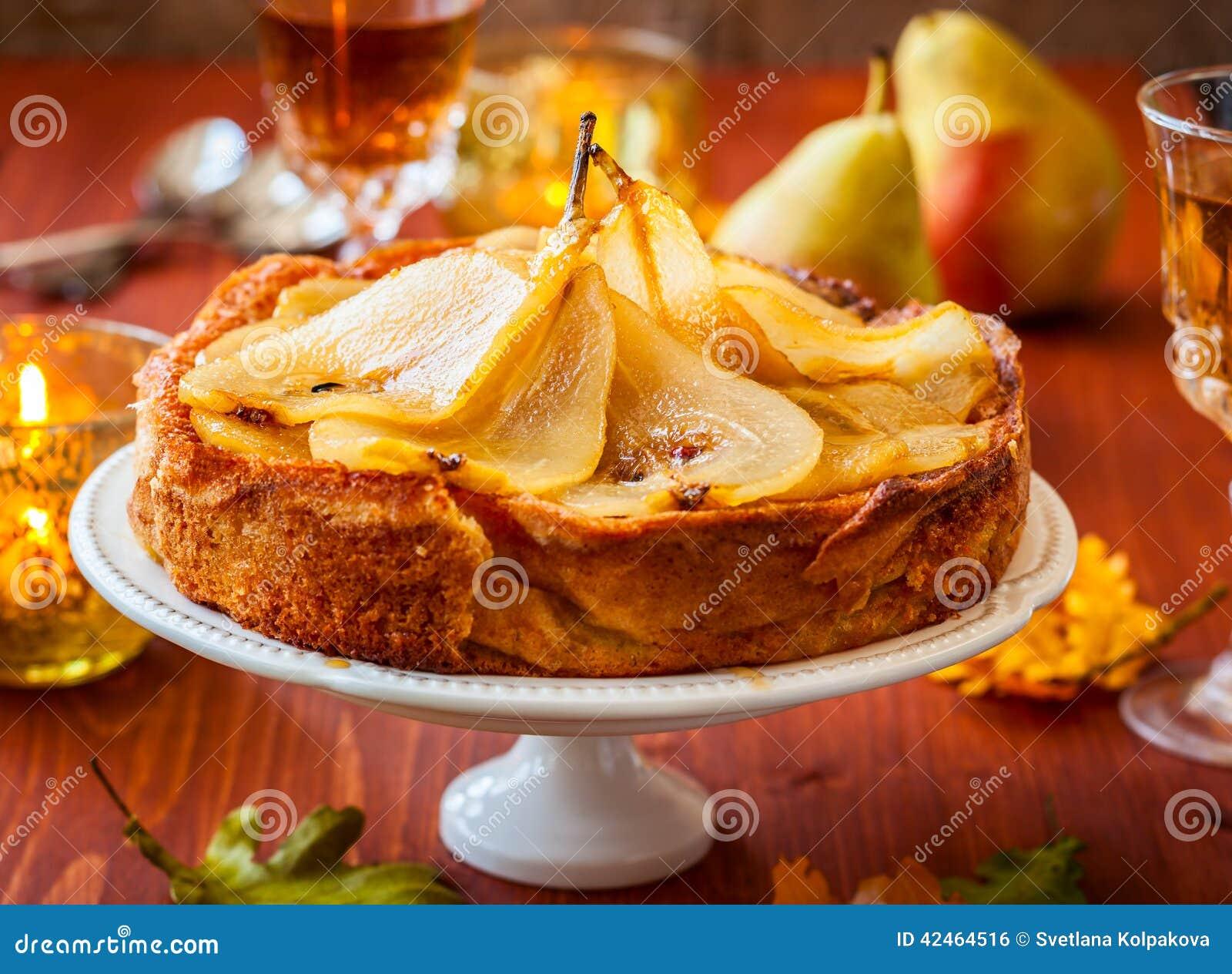Торт груши на праздник