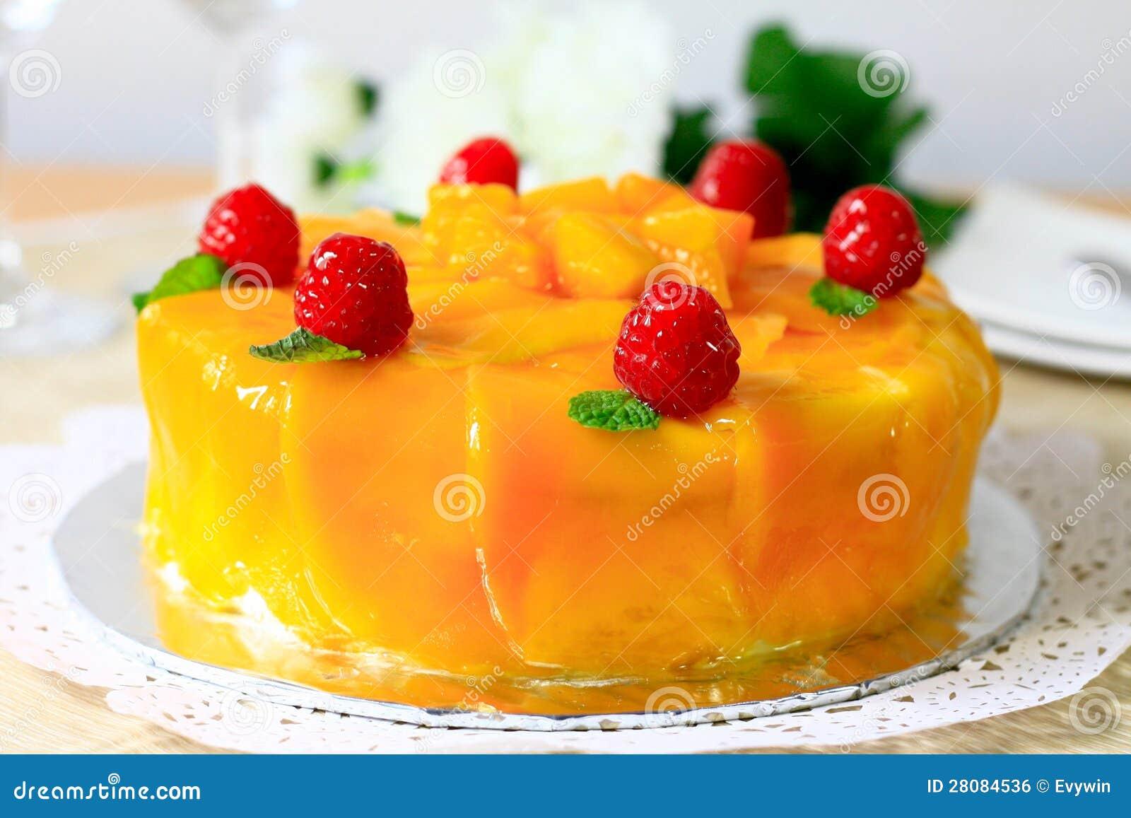 Торт мангоа
