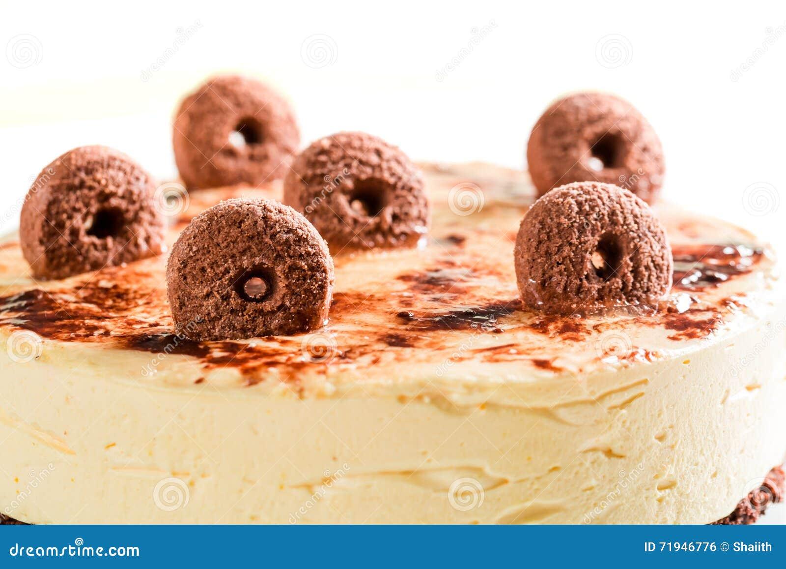 Торт печений