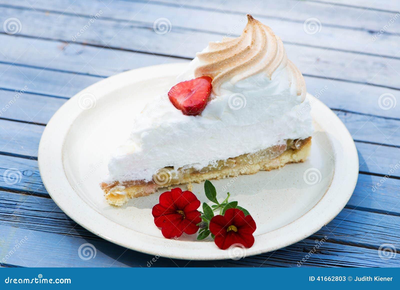 Торт ревеня