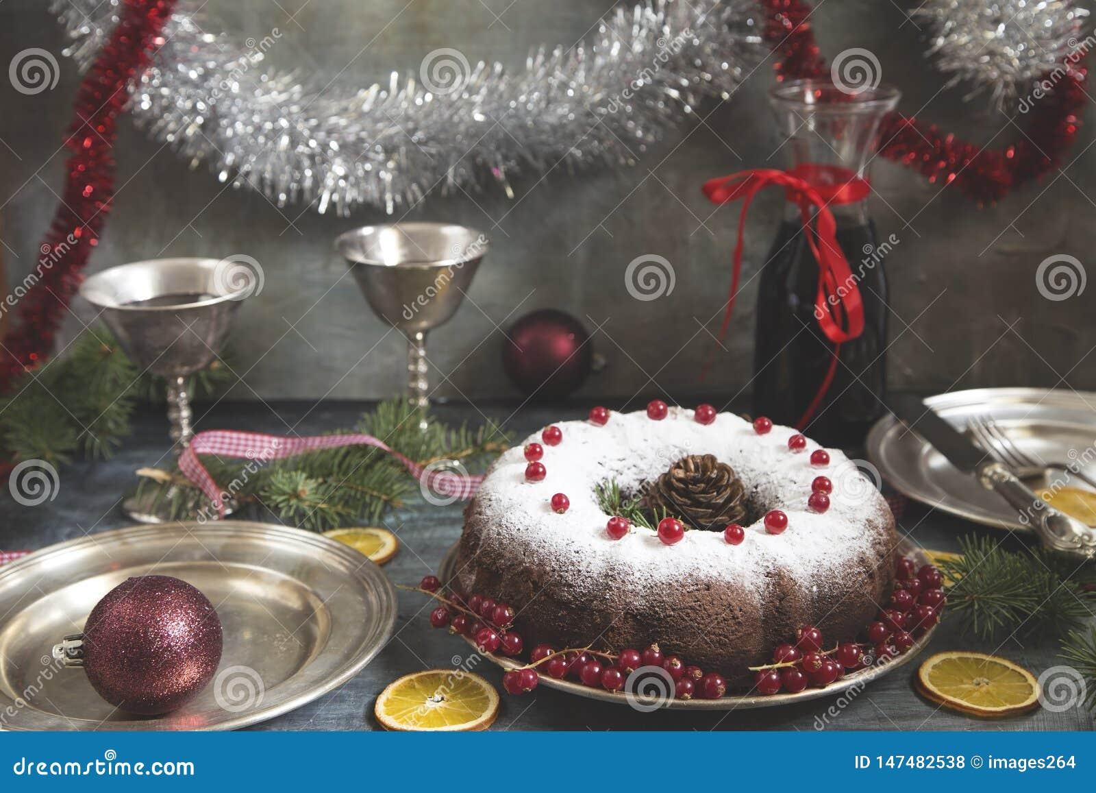 Торт рождества и Нового Года