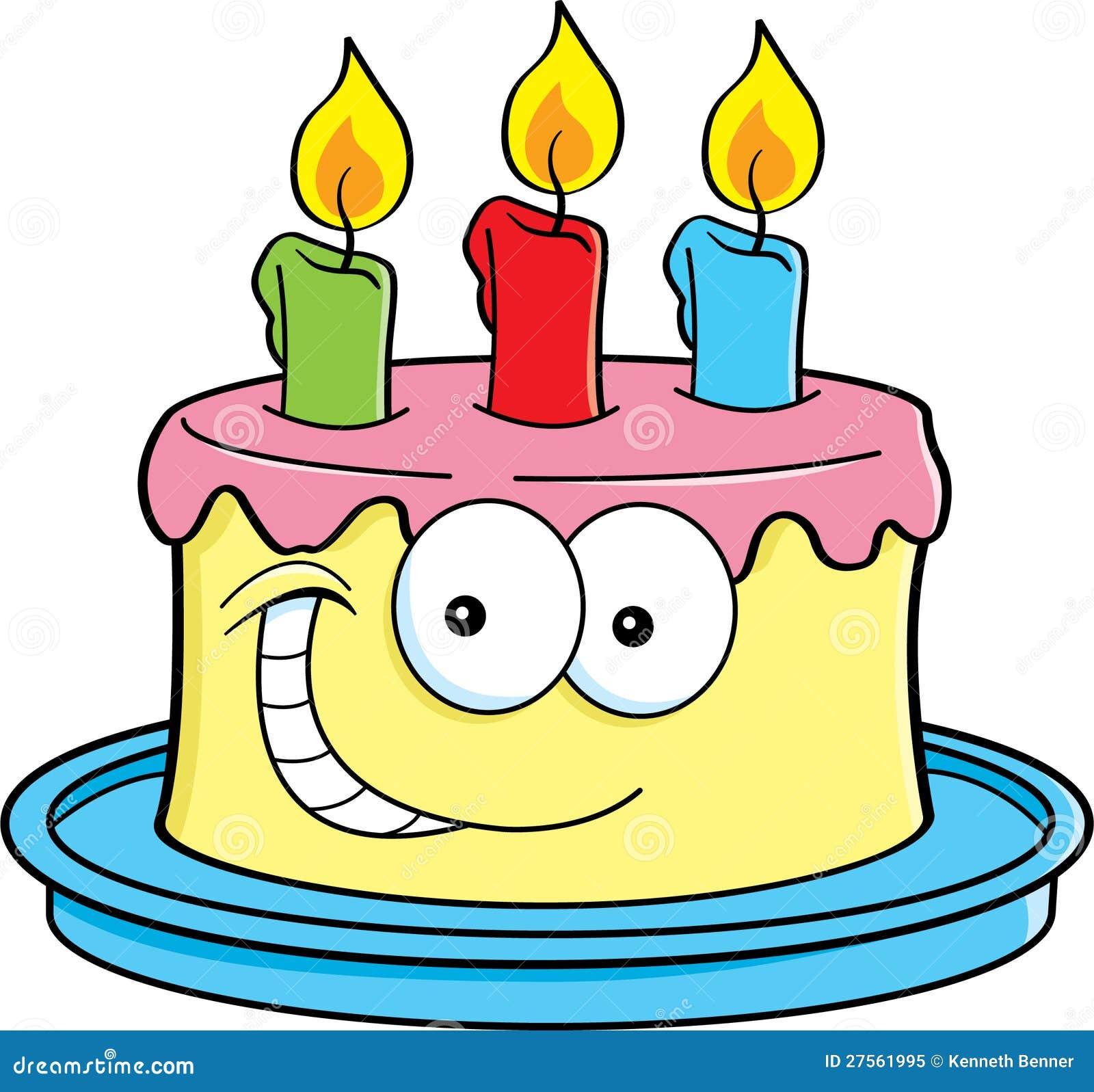 Иллюстрация торт