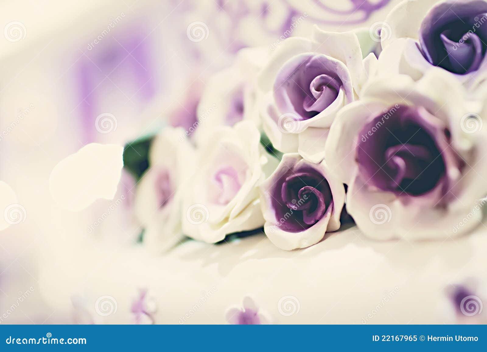 торт цветет венчание