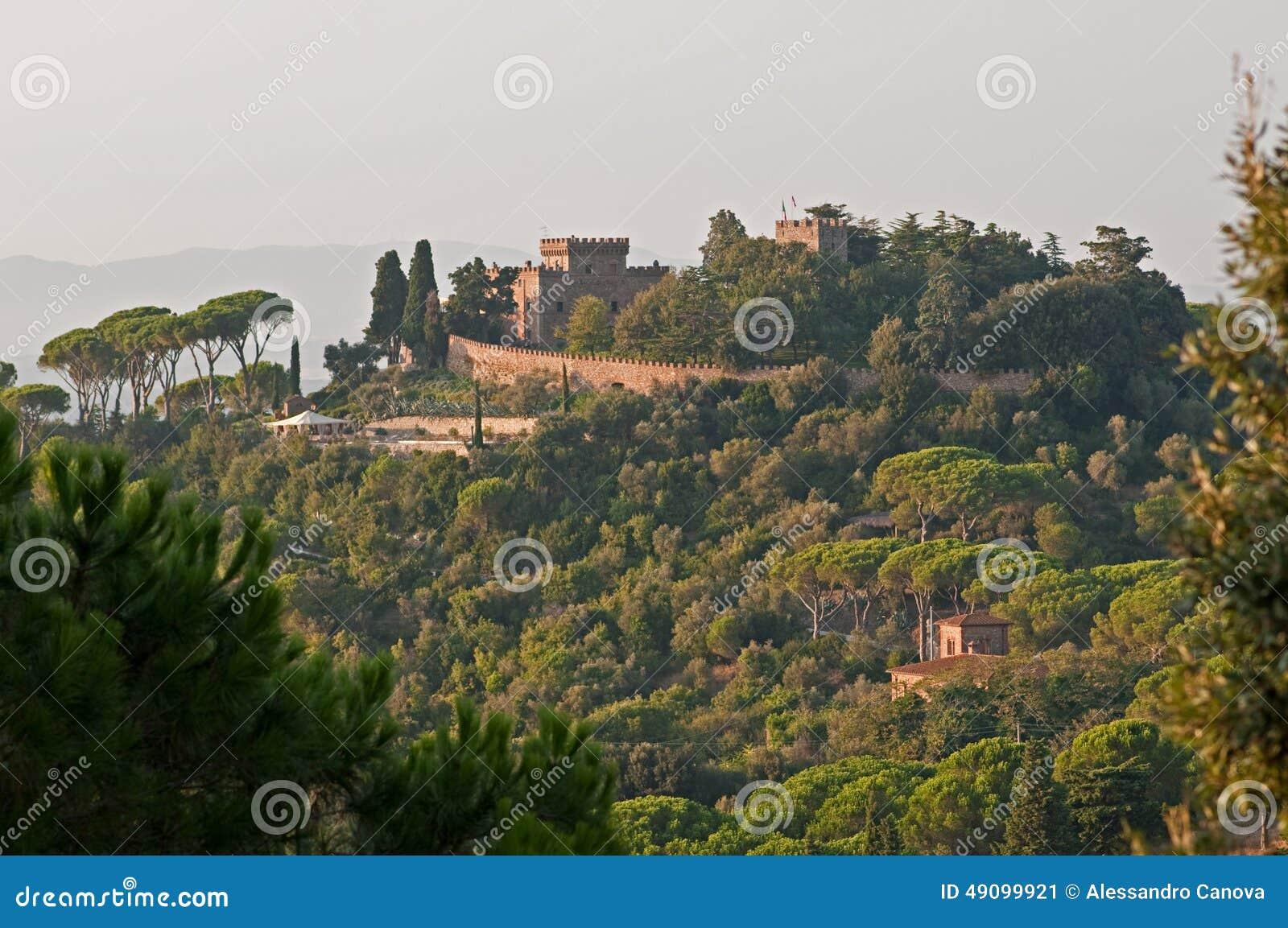 Тосканская резиденция Сарра ferguson