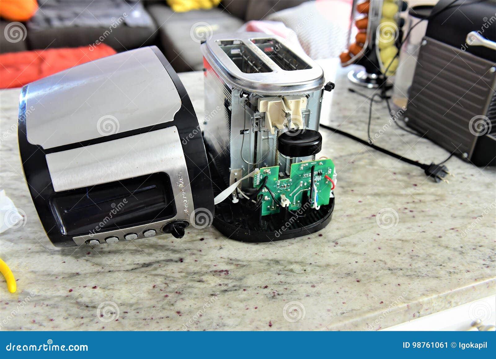 Тостер без ремонтировать крышки