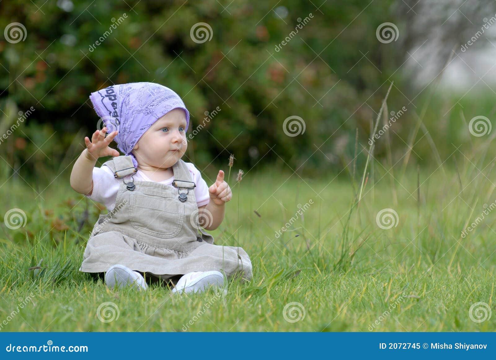 трава младенца