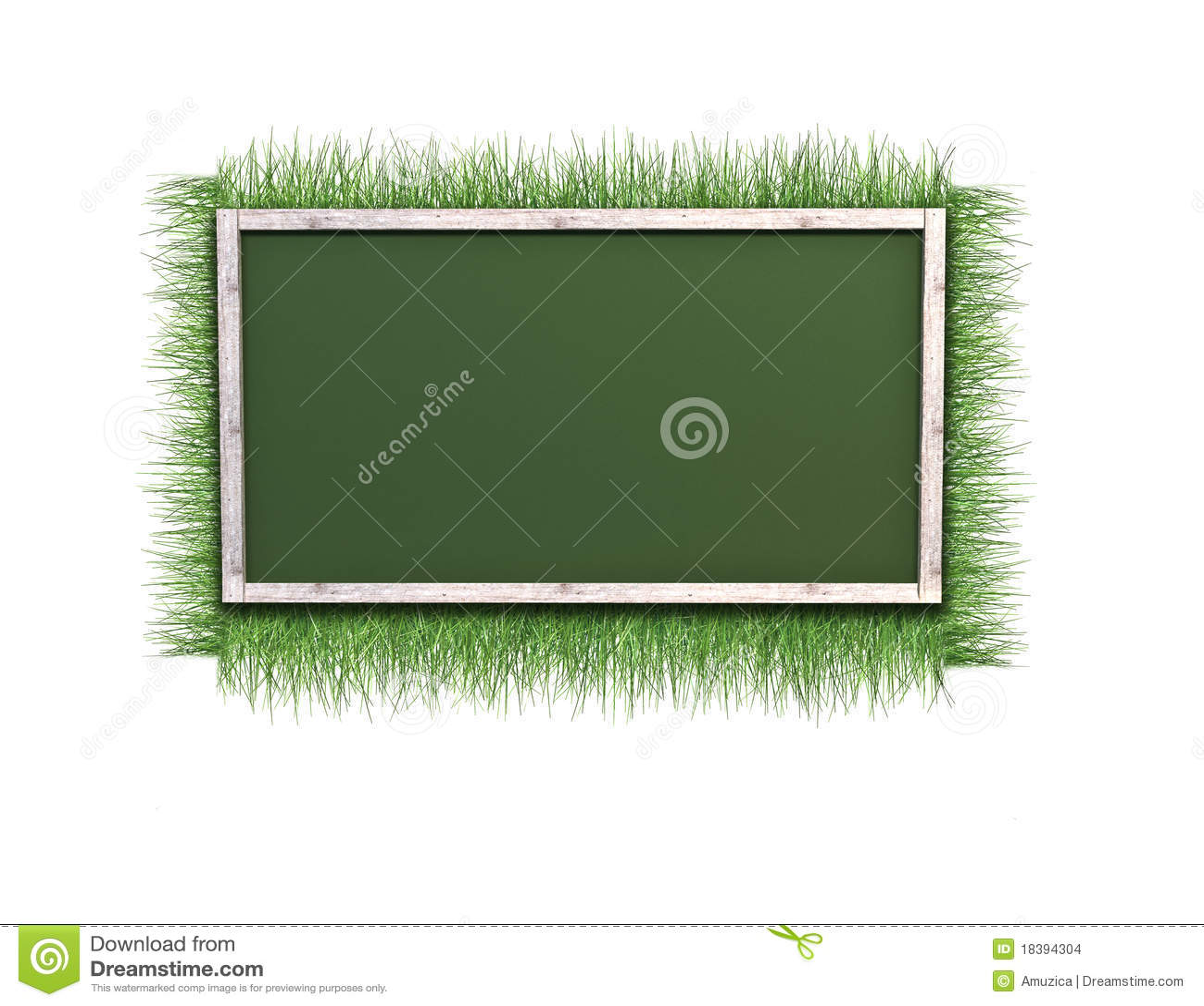 трава рамки предпосылки