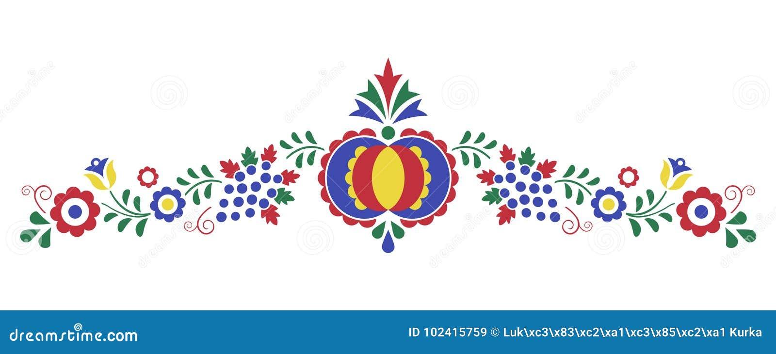 Традиционный фольклорный орнамент, орнамент Moravian