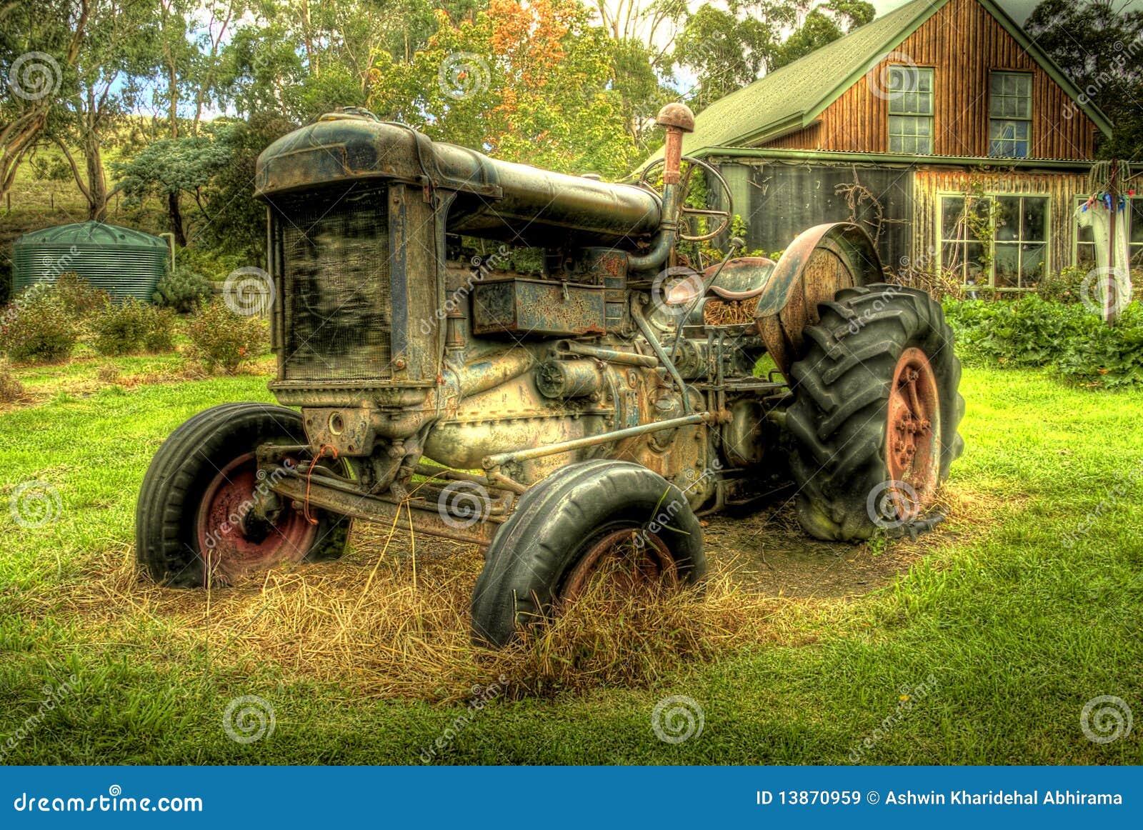 трактор hdr старый
