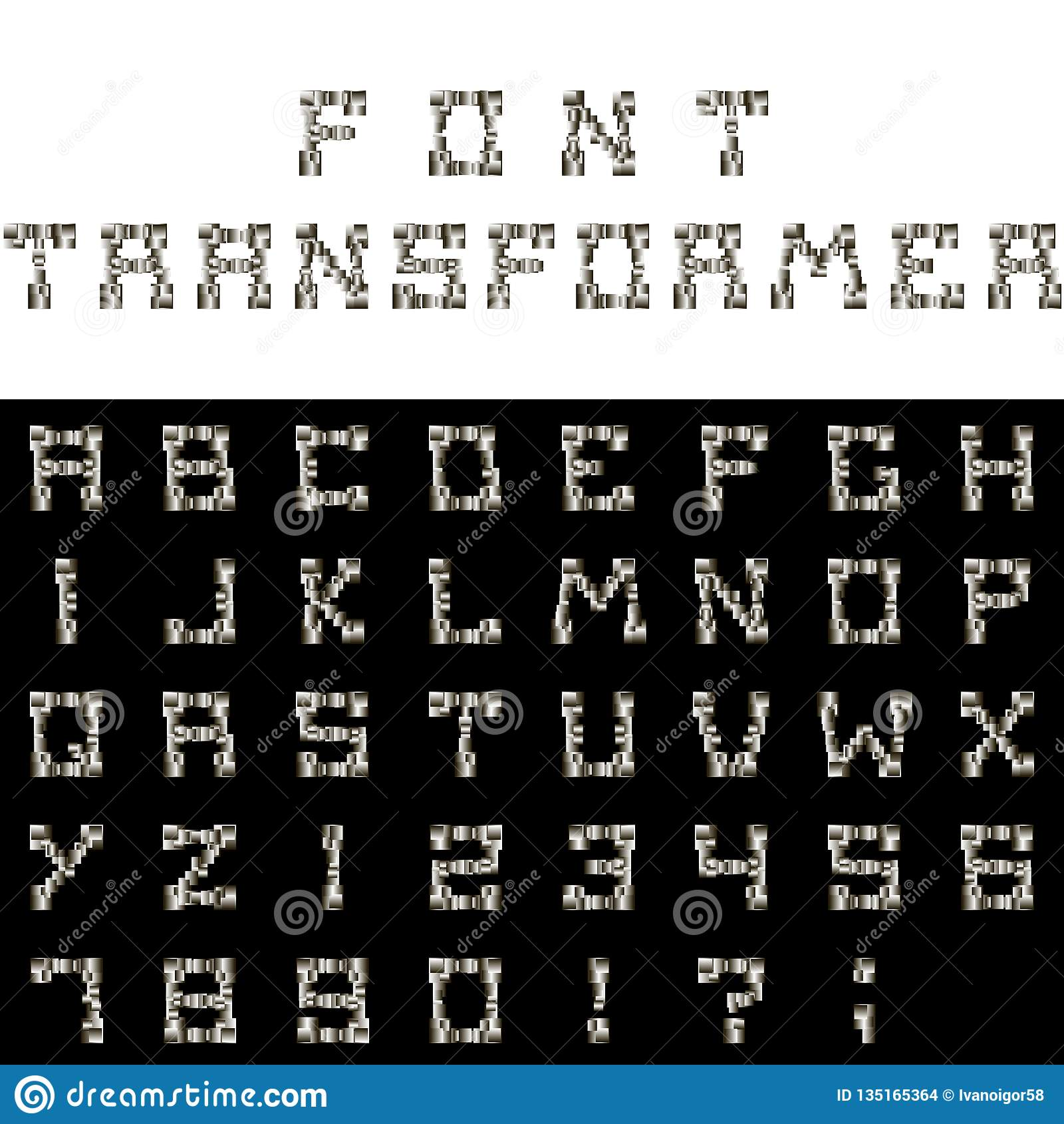 Трансформатор шрифта