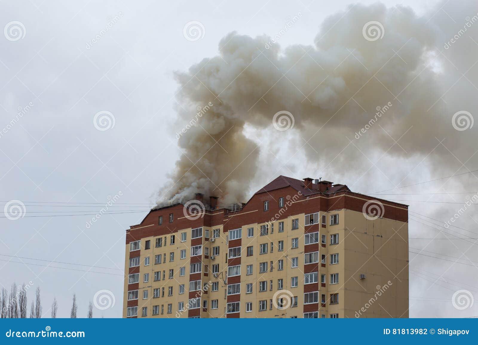 трап пожарного пожара здания вне кладет